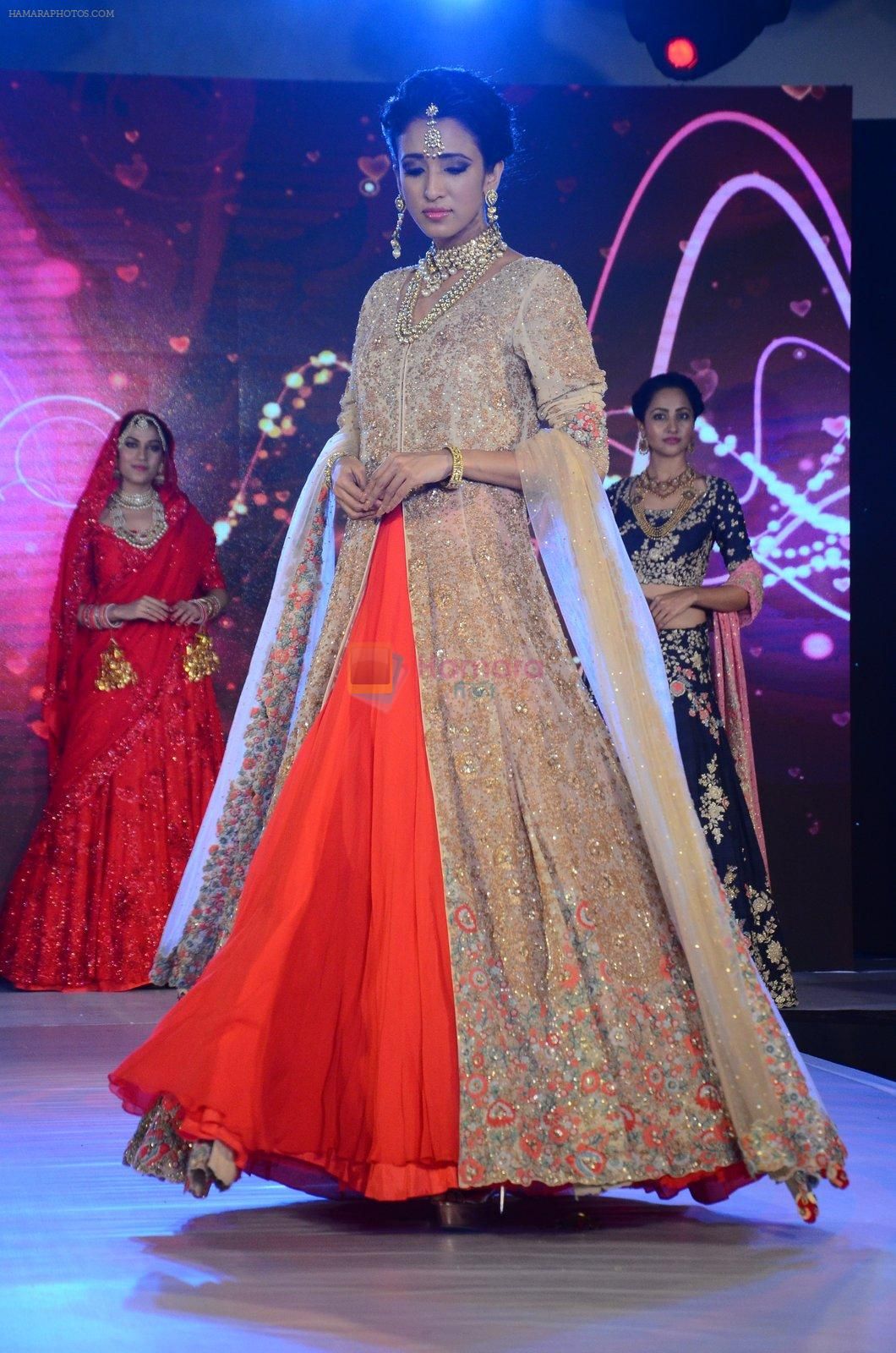 Model at bridal show on 19th Aug 2016