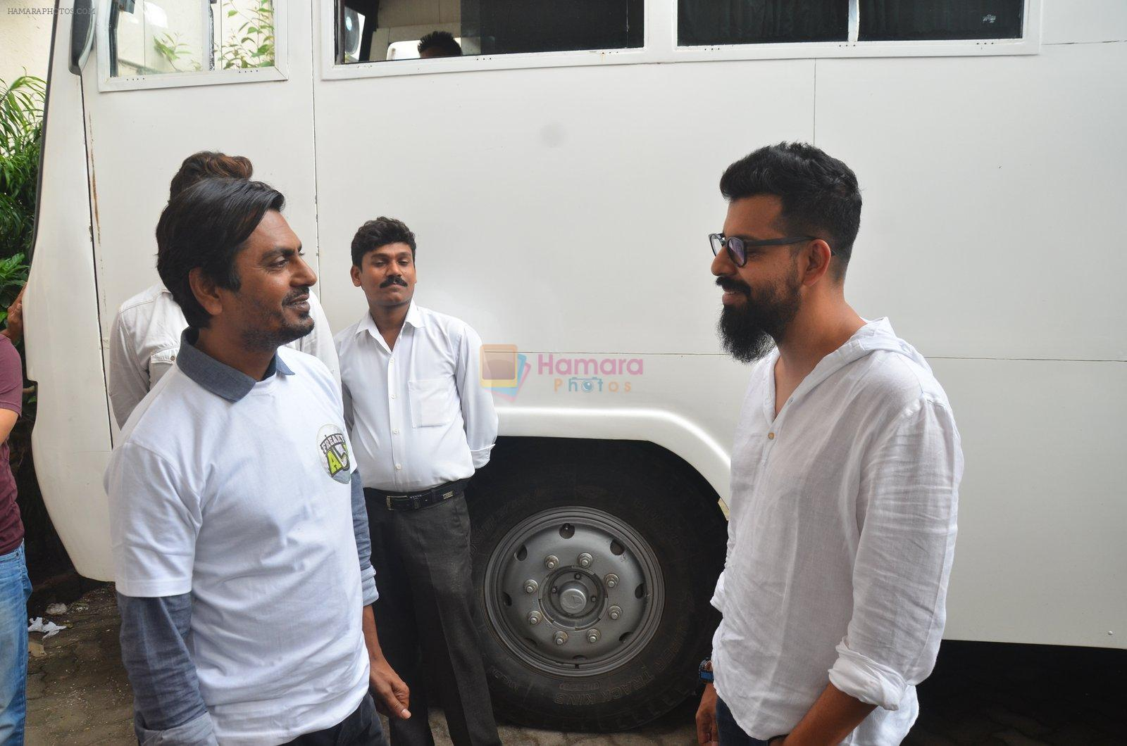 Bejoy Nambiar snapped as he promote Freaky Ali on 20th Aug 2016