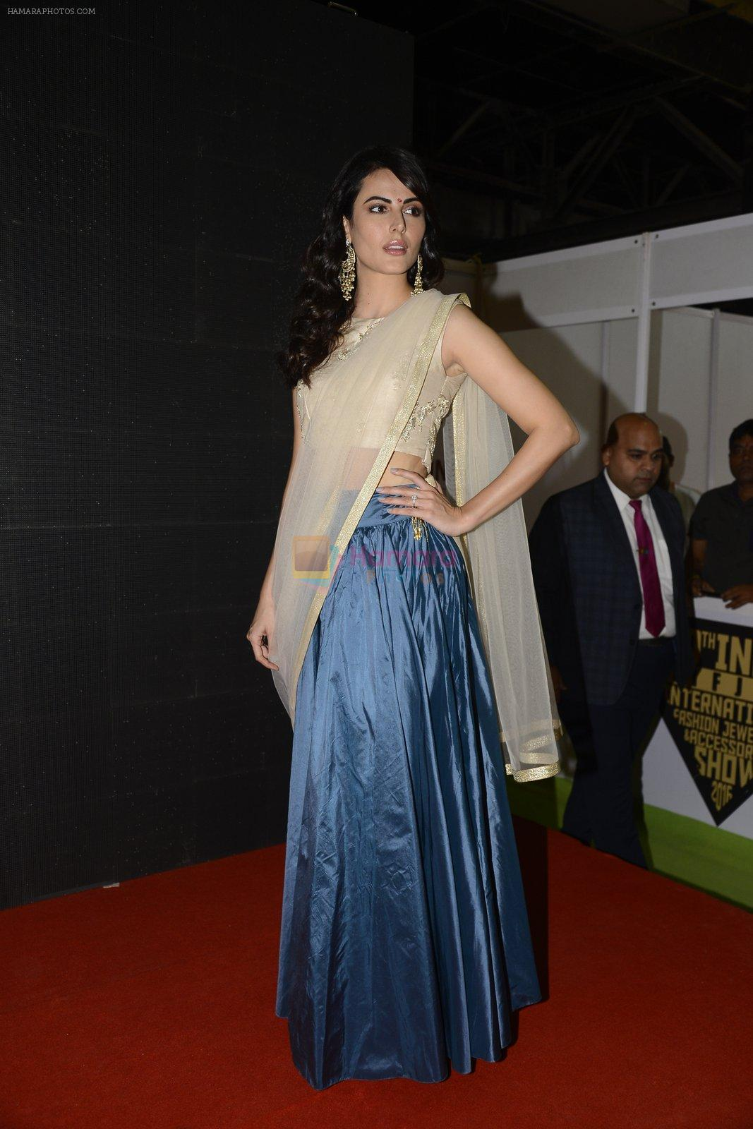 Mandana Karimi at jewellery exhibition at nse goregaon on 19th Aug 2016