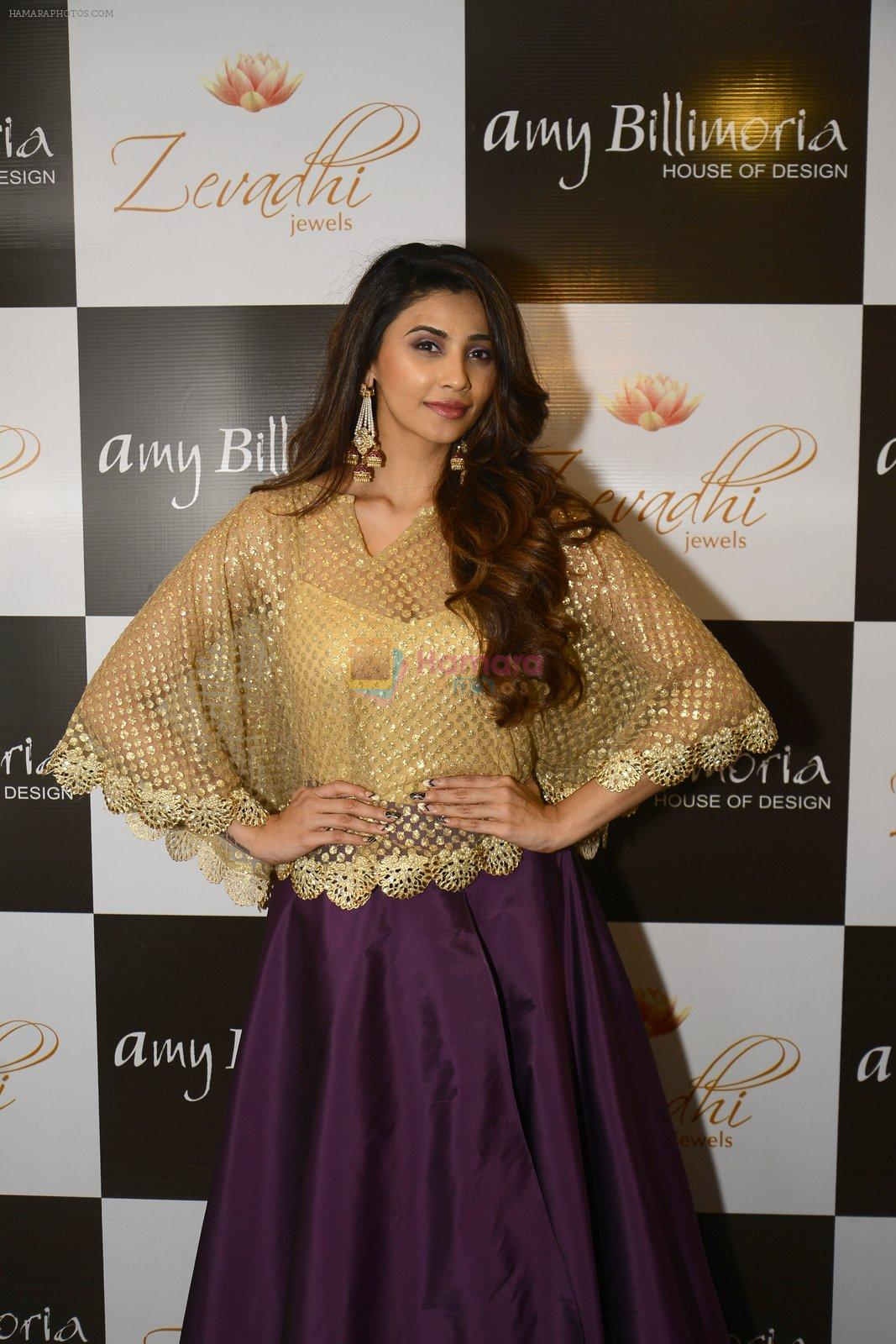Daisy Shah at Amy Billimoria and Zevadhi Jewels launch on 22nd Aug 2016