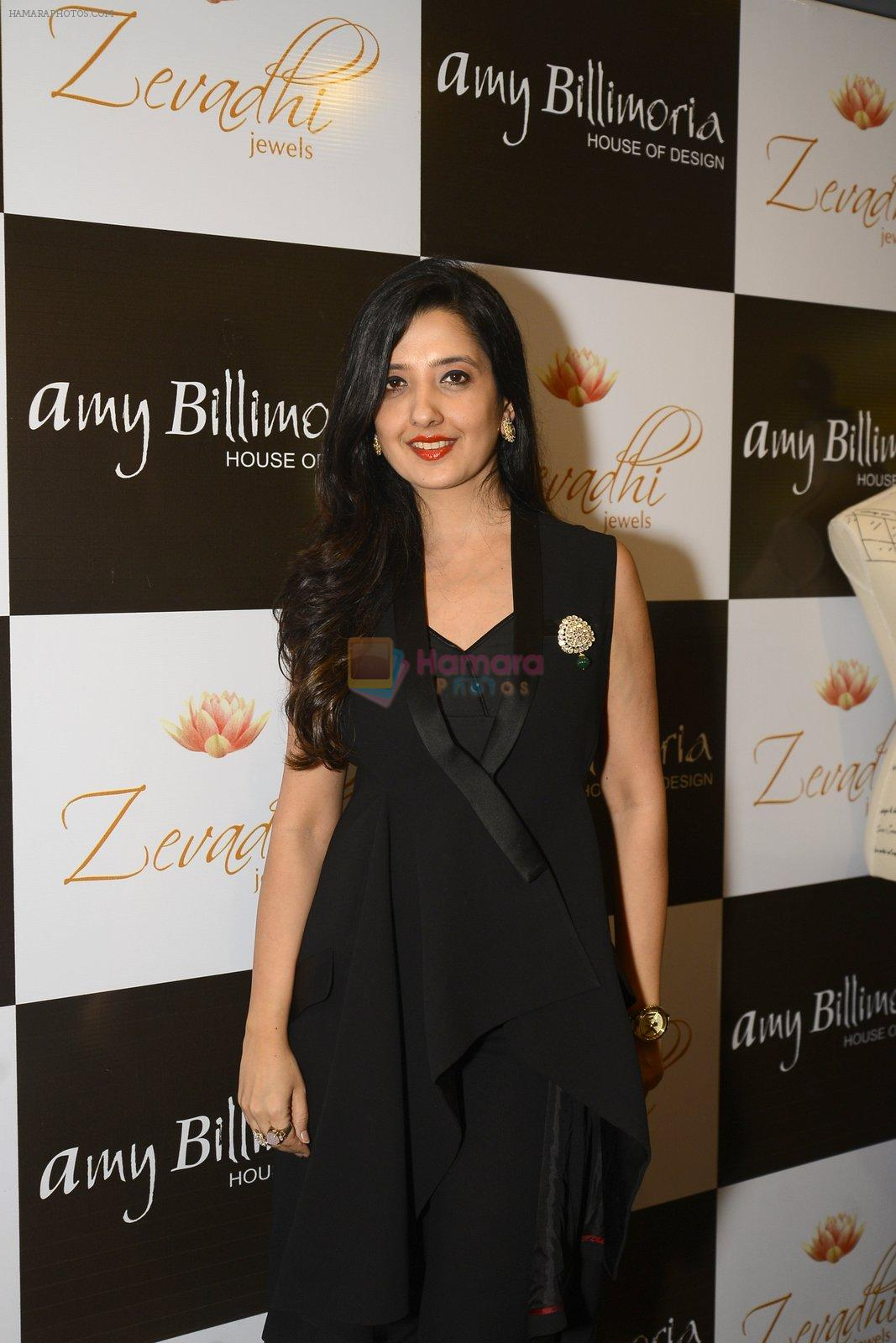 Amy Billimoria and Zevadhi Jewels launch on 22nd Aug 2016