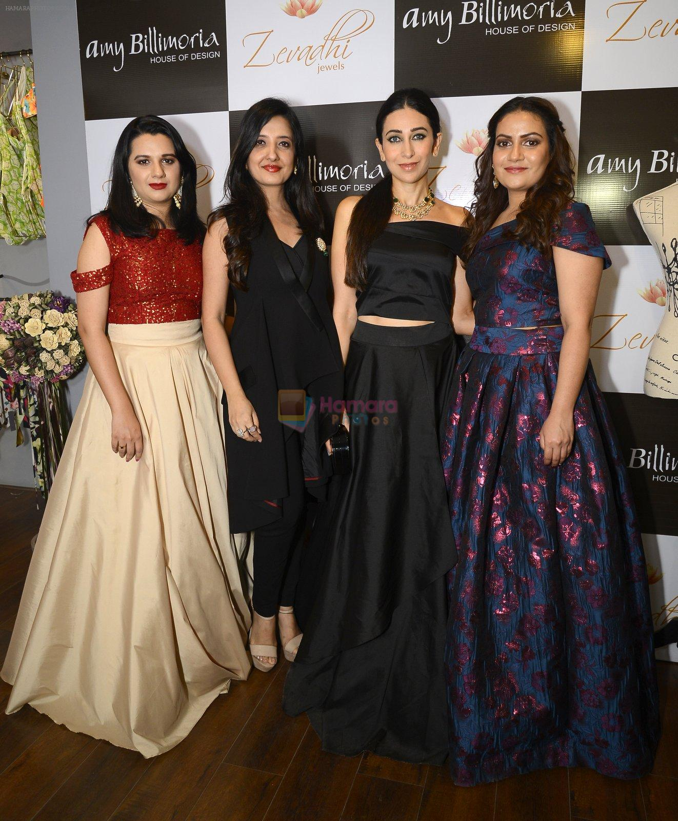 Karisma Kapoor at Amy Billimoria and Zevadhi Jewels launch on 22nd Aug 2016