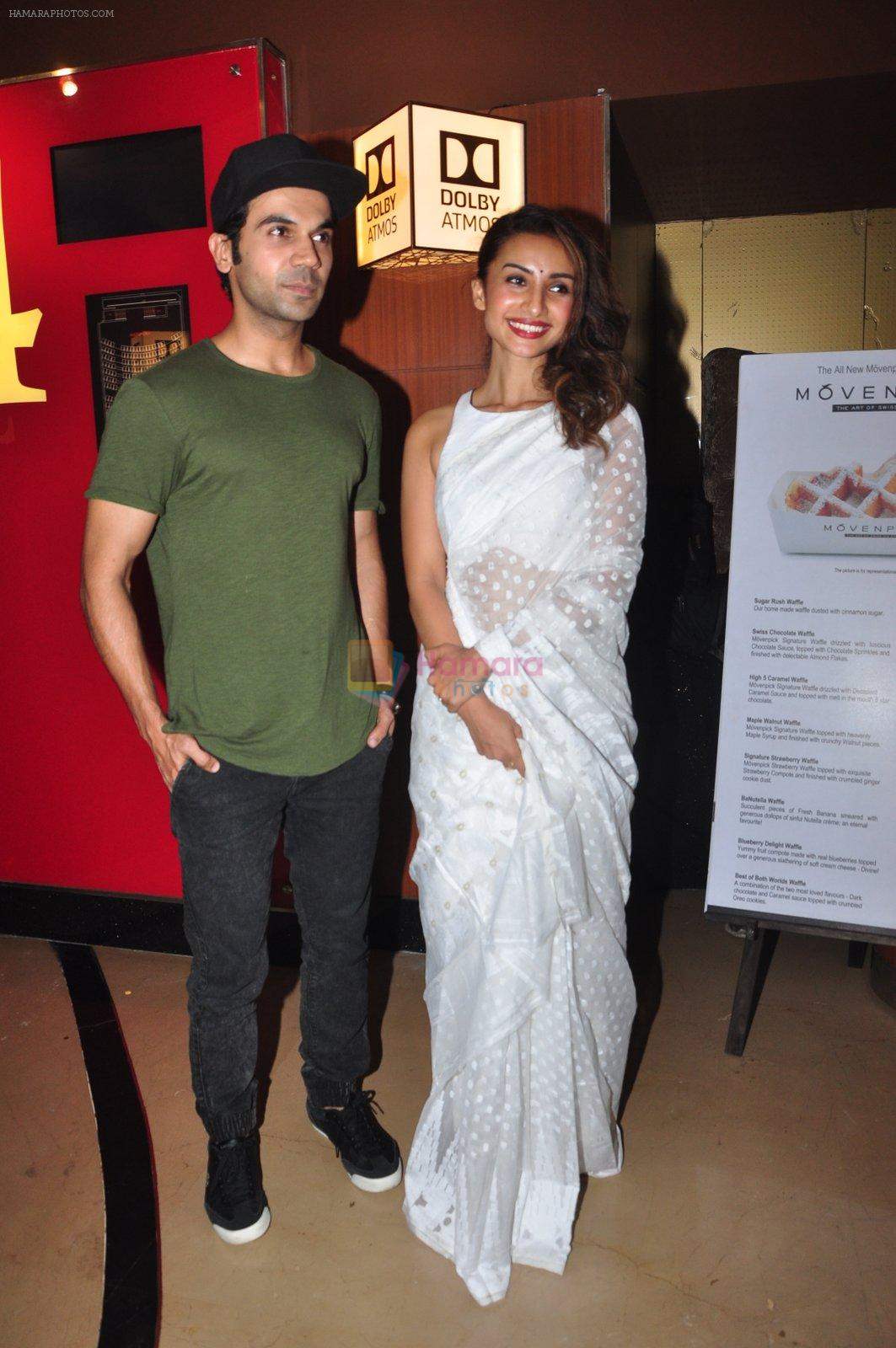 Rajkumar Rao and Patralekha at Saheb Bibi Goolam film launch in Mumbai on 22nd Aug 2016