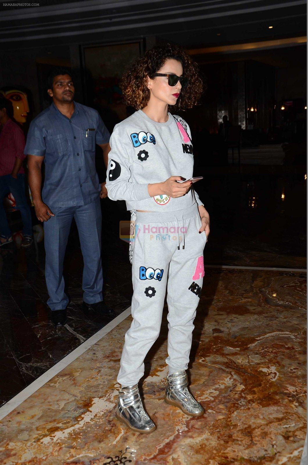 Kangana Ranaut snapped post Lakme show on 23rd Aug 2016