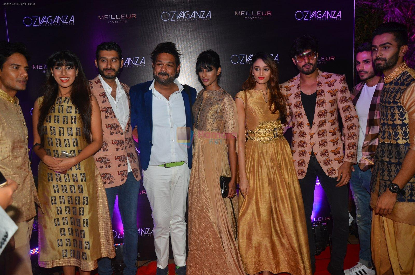 at Oz fashion event in Mumbai on 23rd Aug 2016