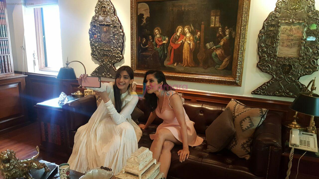 Sonam Kapoor launches first look & teaser of Sophie Choudry�s wedding anthem Sajan Main Nachungi