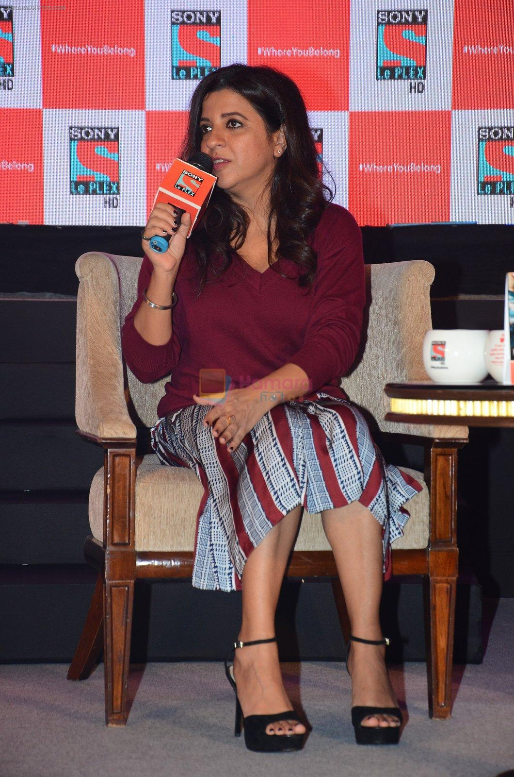 Zoya Akhtar at the launch of English movie channel Sony Le PLEX HD in Mumbai on 23rd Aug 2016