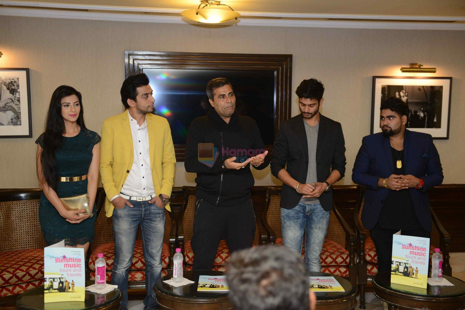 Ashrud Jain, Deepak Kadra, Shailendra Singh, Subha Rajput, Sunny Kaushal at Sunshine music travel press meet on 24th Aug 2016