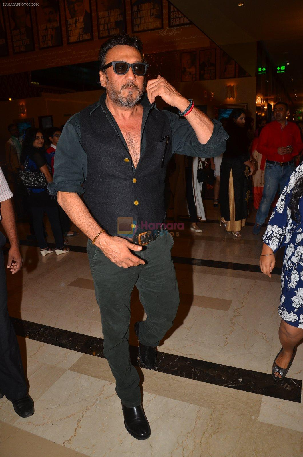 Jackie Shroff at The Flying Jatt premiere on 24th Aug 2016