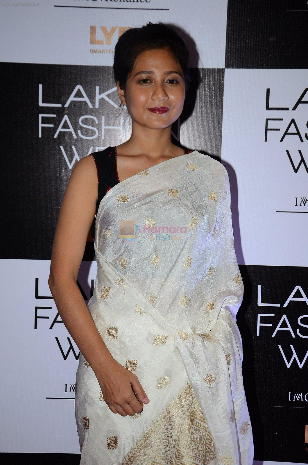 at Lakme Fashion Week 2016 Day 2 on 25th Aug 2016