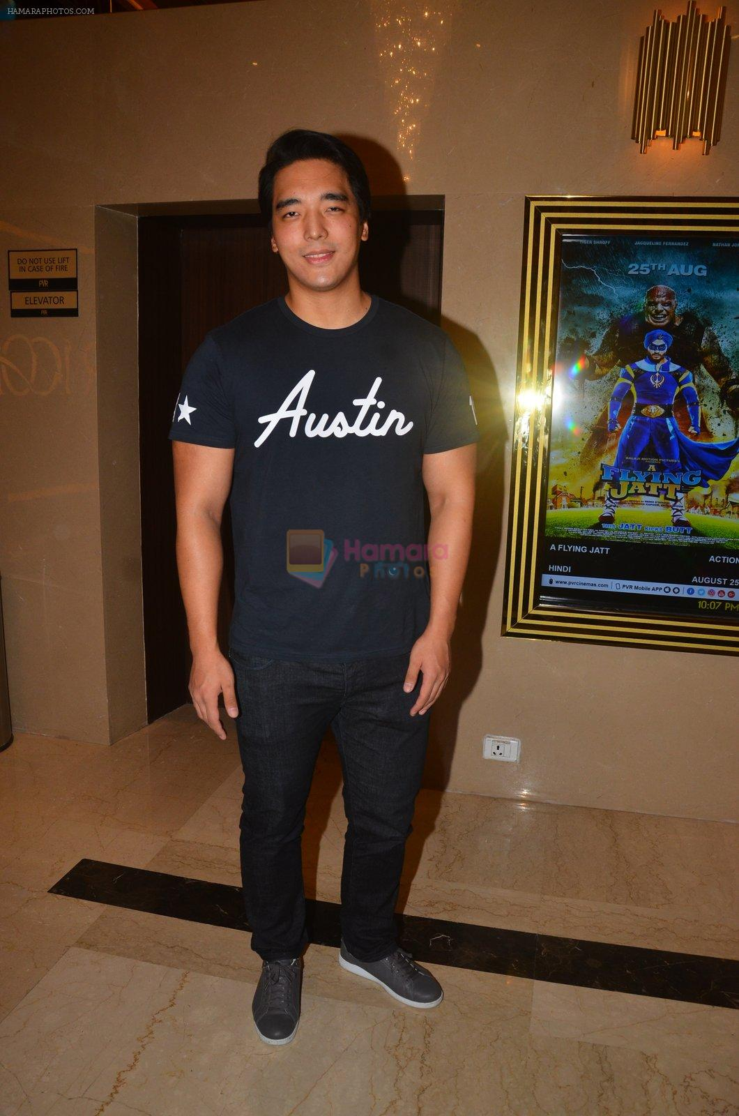 at The Flying Jatt premiere on 24th Aug 2016