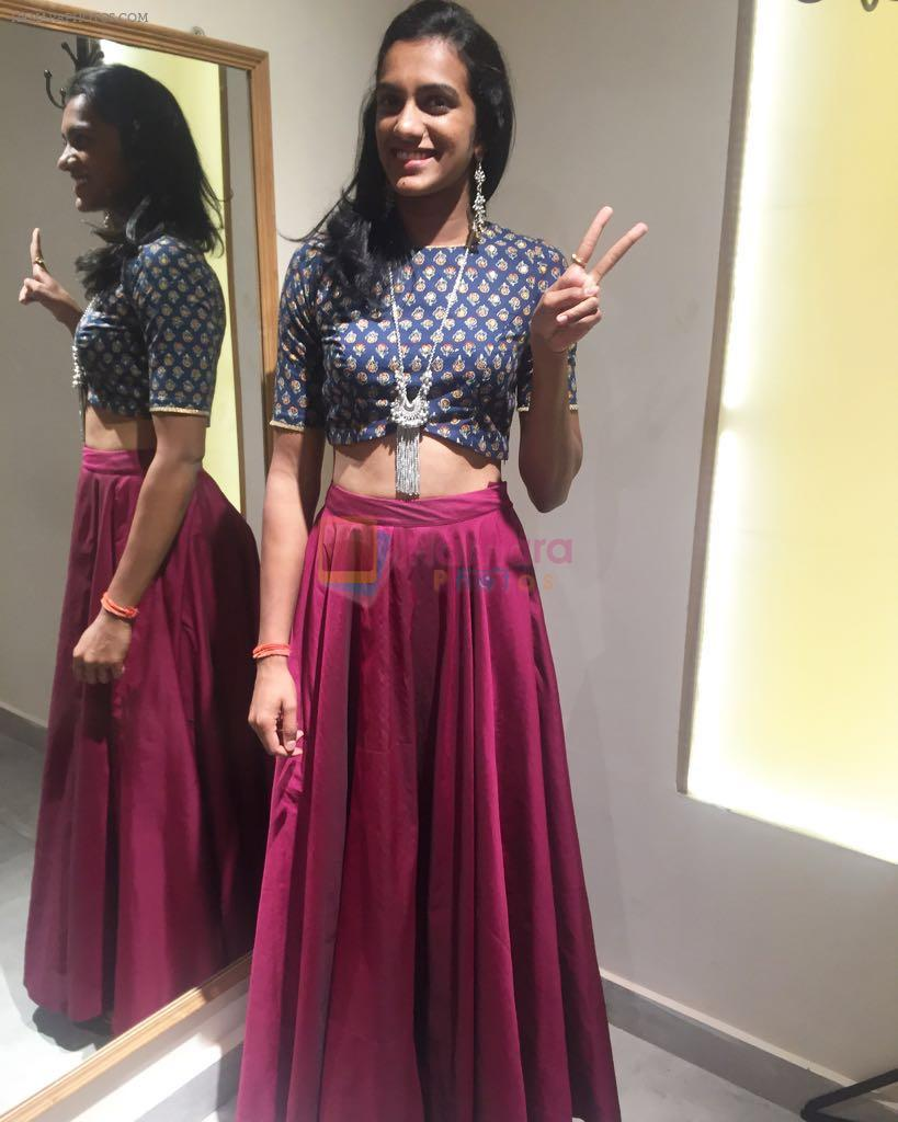PV Sindhu made a fashionable move with Shravya varma