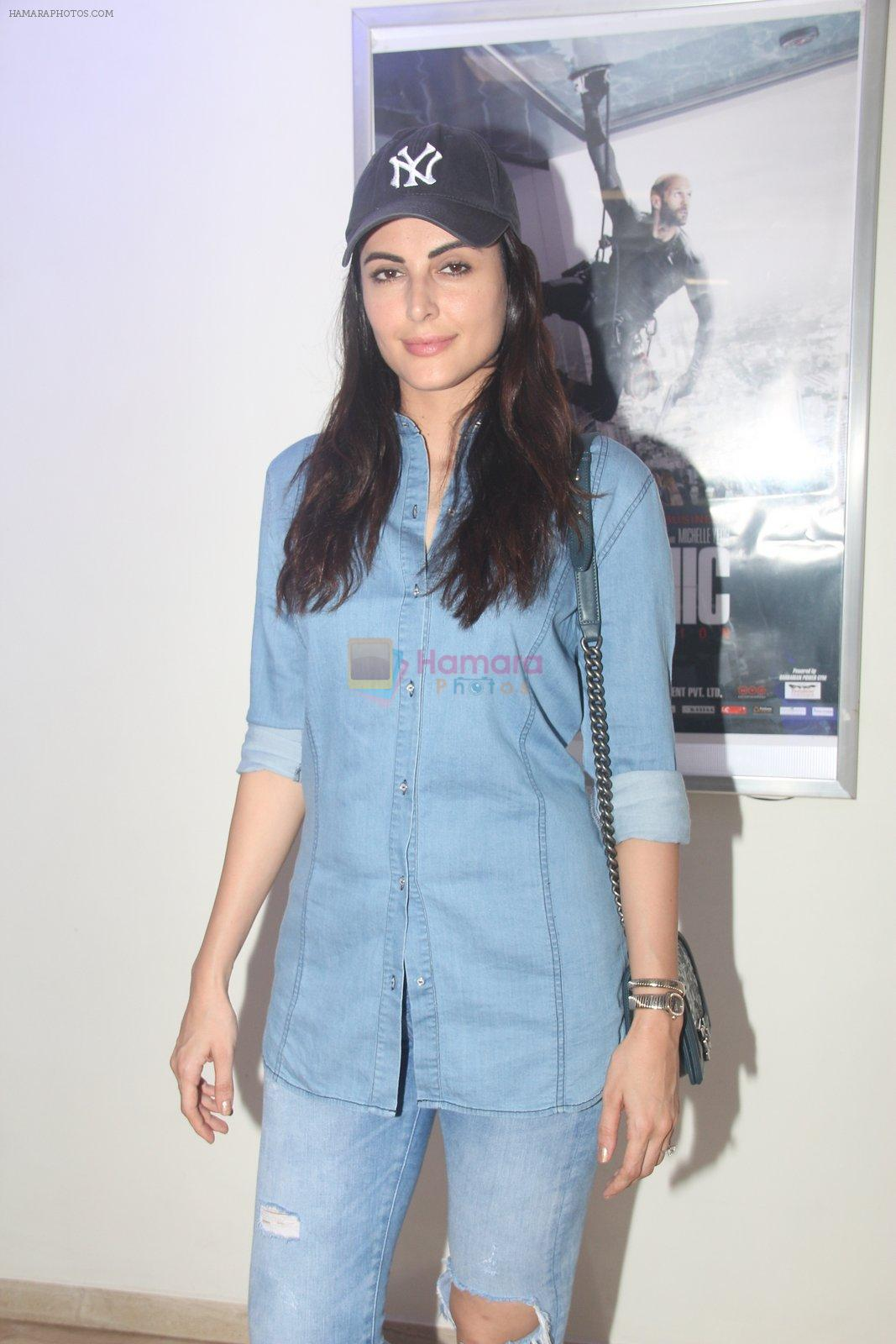 Mandana Karimi at Mechanic Ressurection screening on 25th Aug 2016