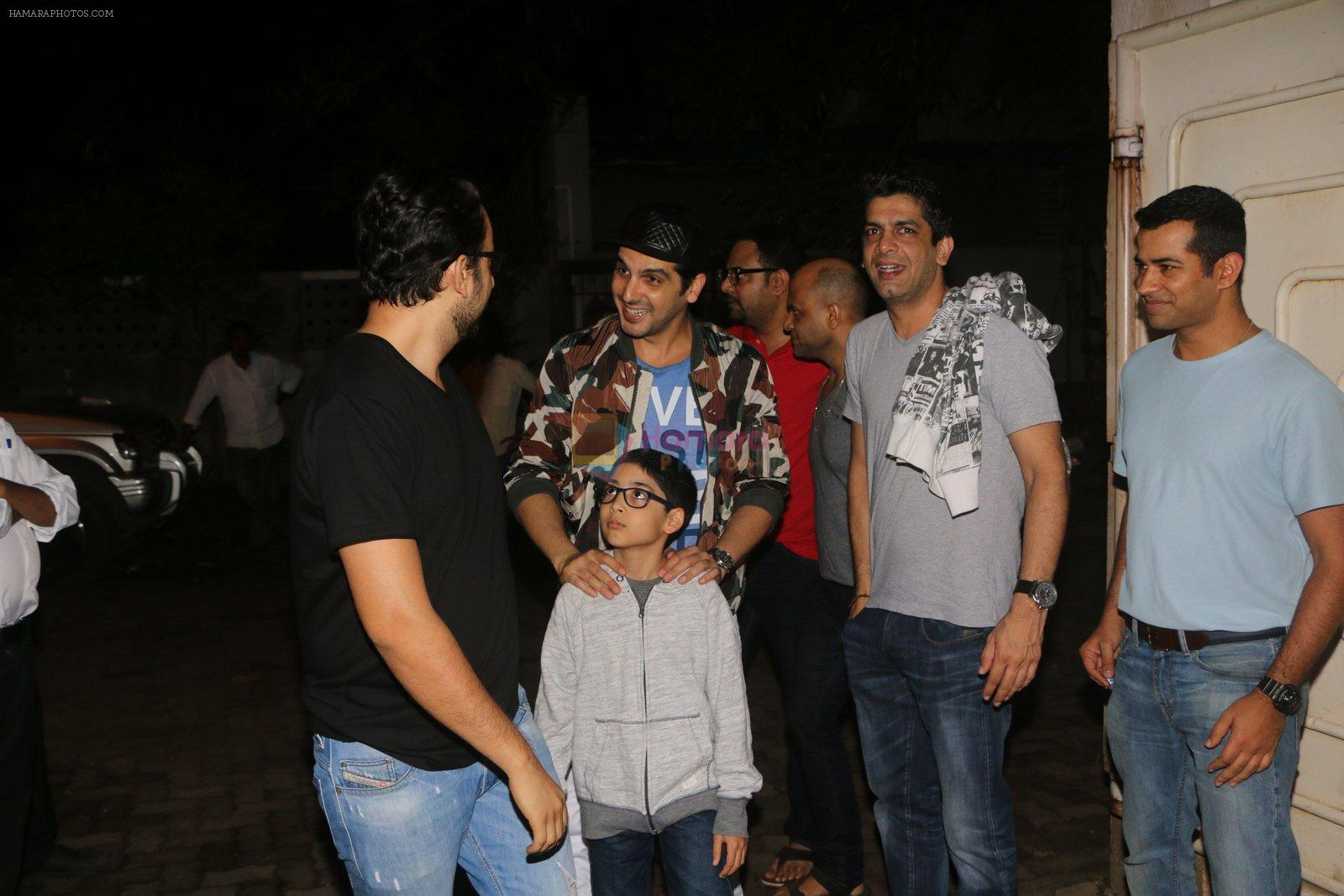 Sahil Sangha at Mechanic Ressurection screening on 25th Aug 2016