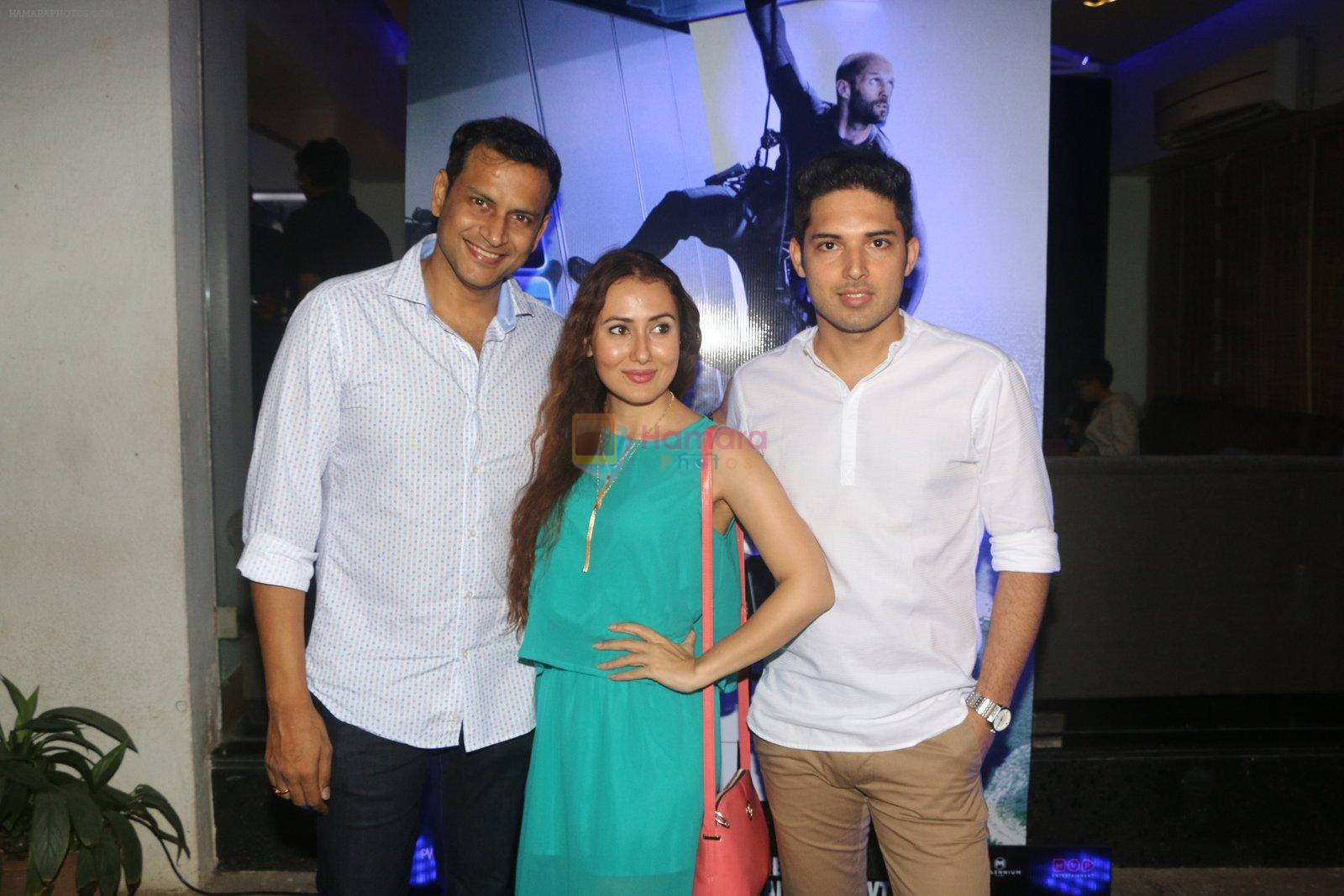 at Mechanic Ressurection screening on 25th Aug 2016