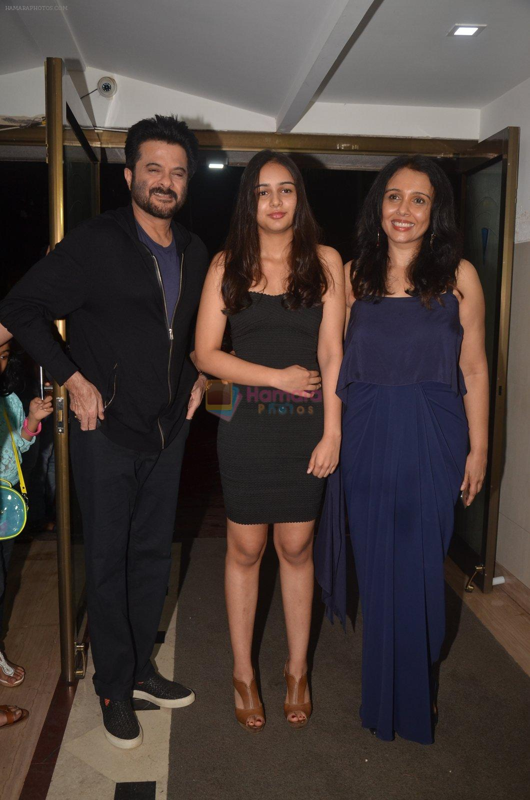 Anil Kapoor, Suchitra Krishnamurthy at the Vamps bash hosted by Suchitra on 27th Aug 2016