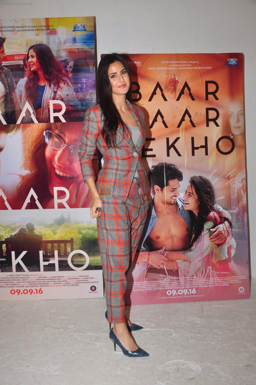 Katrina Kaif promote Bar Bar Dekho in Mumbai on 27th Aug 2016