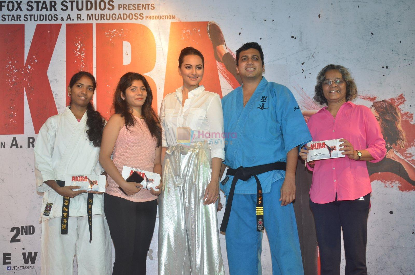 Sonakshi Sinha promote Akira in Mumbai on 28th Aug 2016