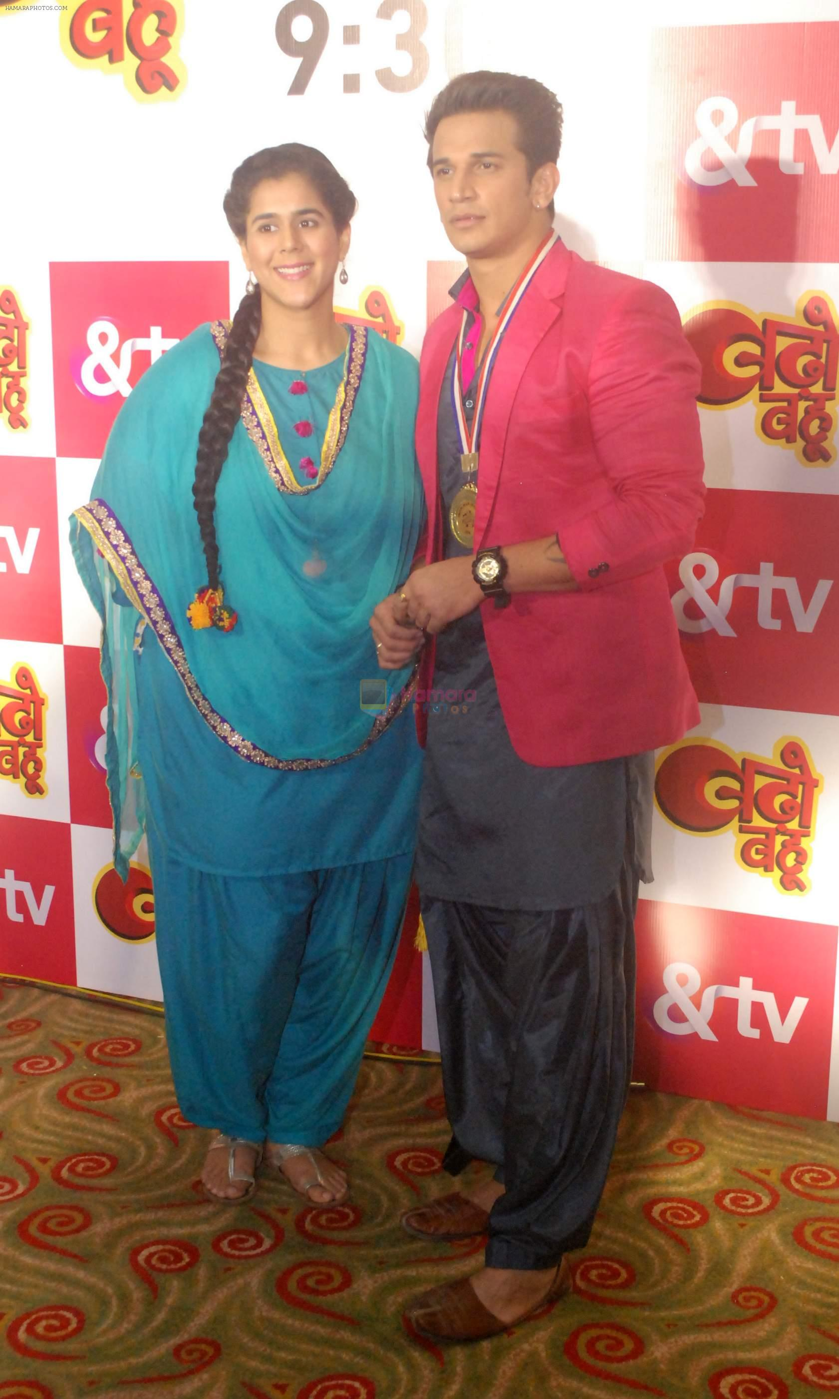 Prince Narula,Arsha Goswami at &tv new show launch on 30th Aug 2016
