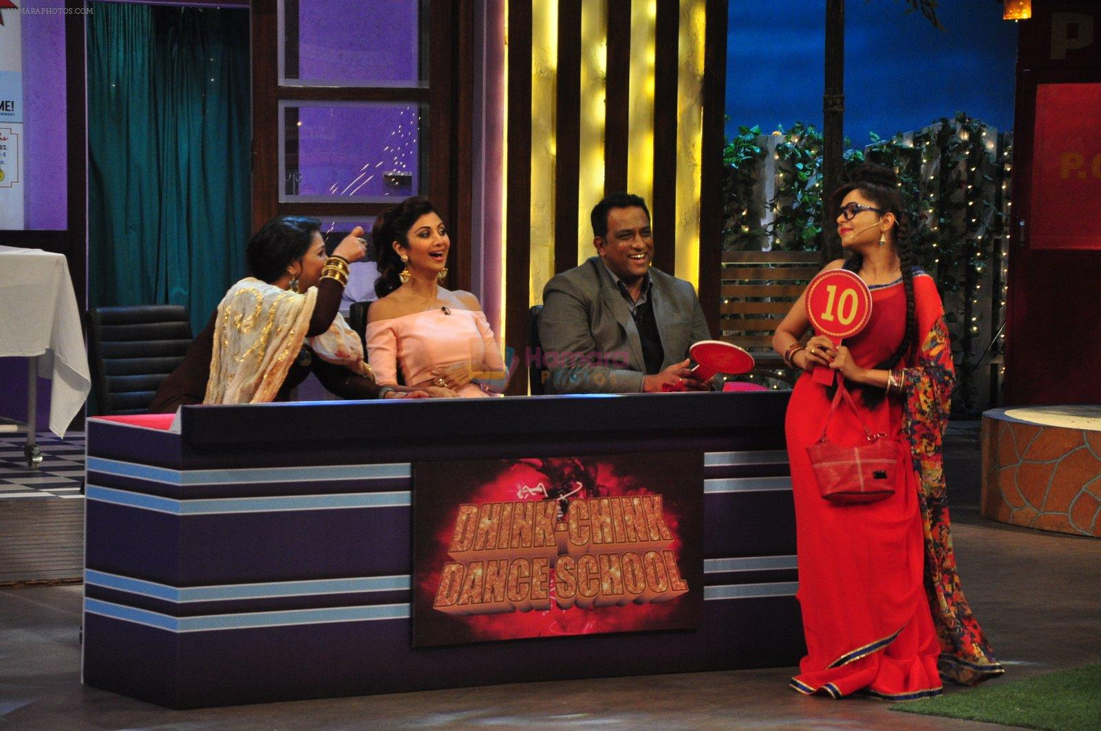 Shilpa Shetty on the sets of The Kapil Sharma Show on 30th Aug 2016