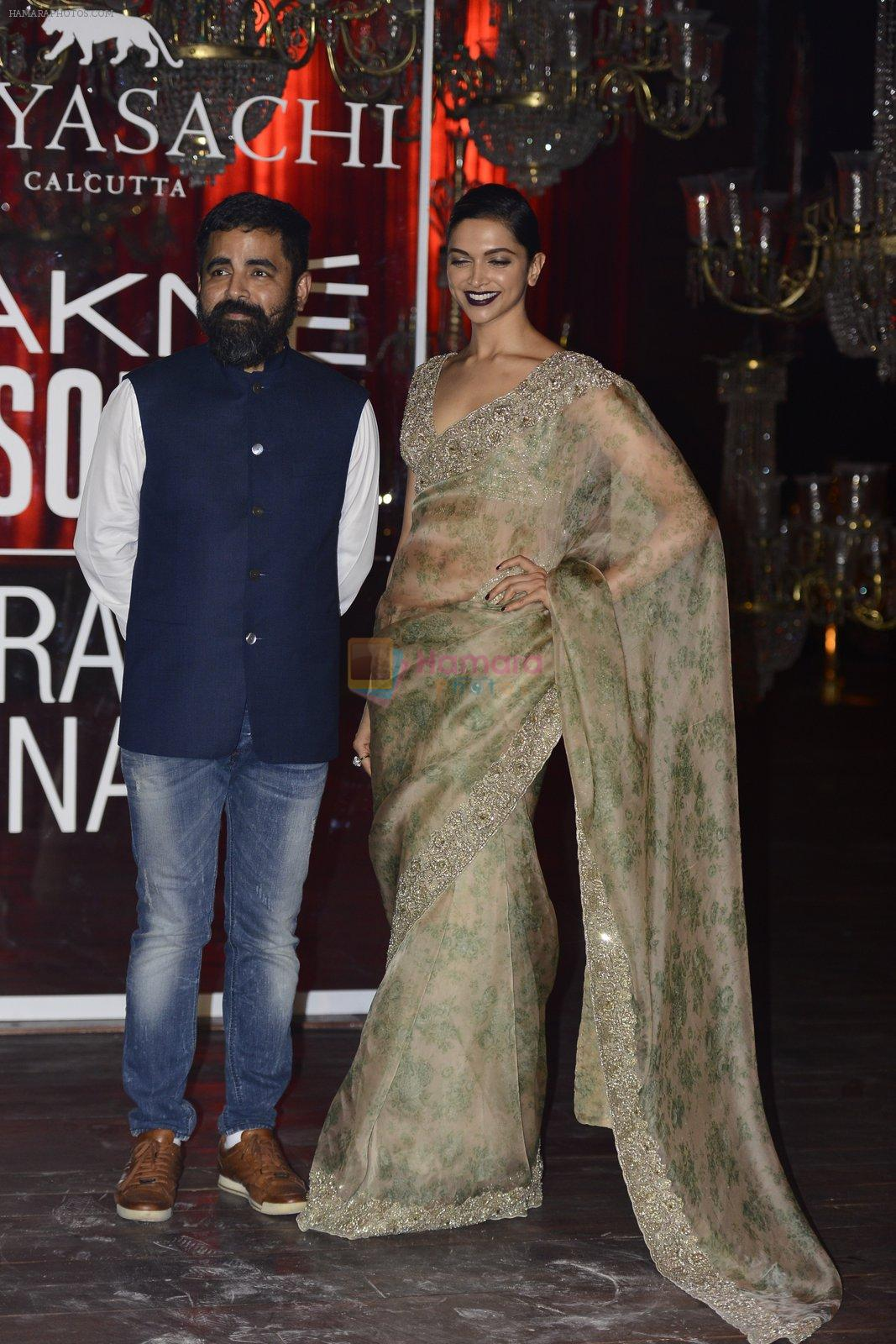 Deepika Padukone at Sabyasachi Show Grand Finale at Lakme Fashion Week 2016 on 28th Aug 2016