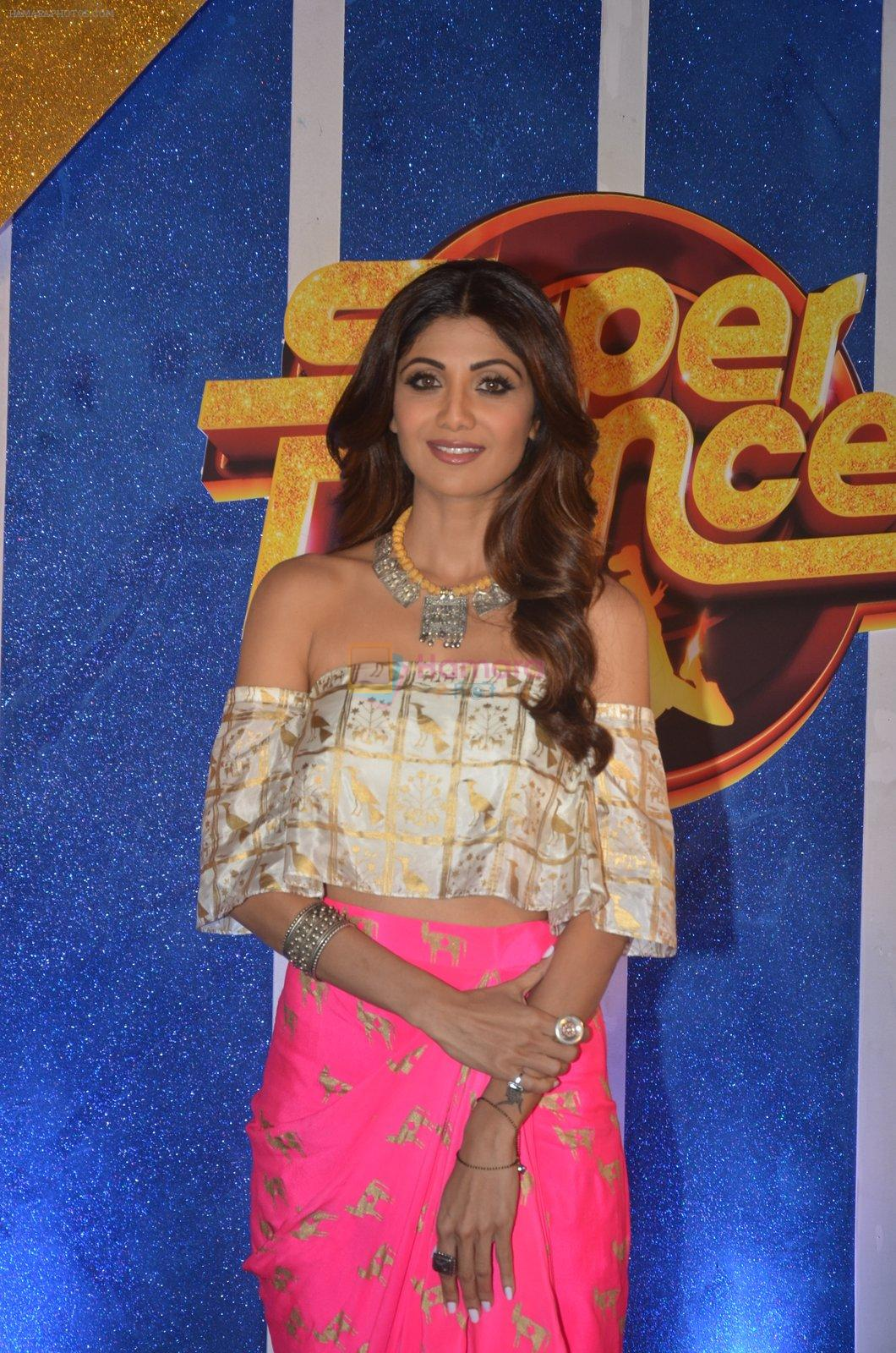 Shilpa Shetty at Super Dancer launch on 29th Aug 2016