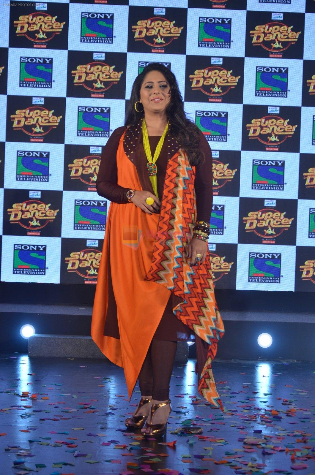 Geeta Kapoor at Super Dancer launch on 29th Aug 2016