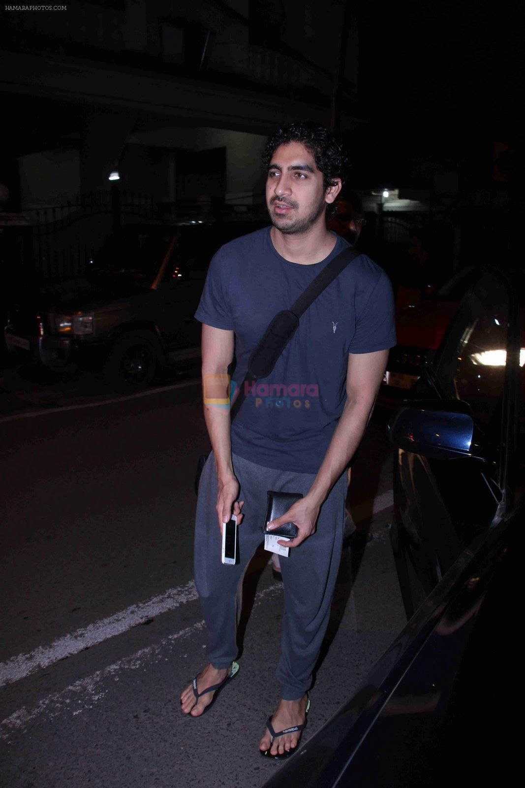 Ayan Mukerji snapped in Bandra on 29th Aug 2016