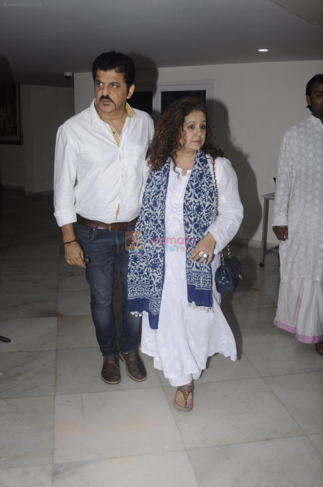 Vandana Sajnani, Rajesh Khattar at Krishna Abhishek's fathers prayer meet on 29th Aug 2016