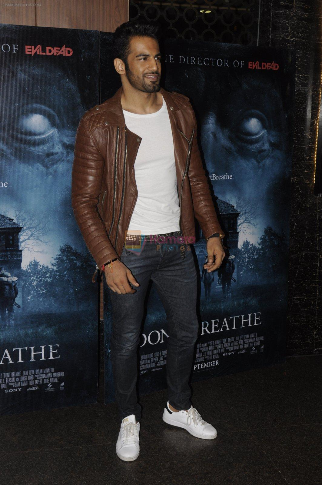 Upen Patel at Don_t Breathe premiere on 30th Aug 2016