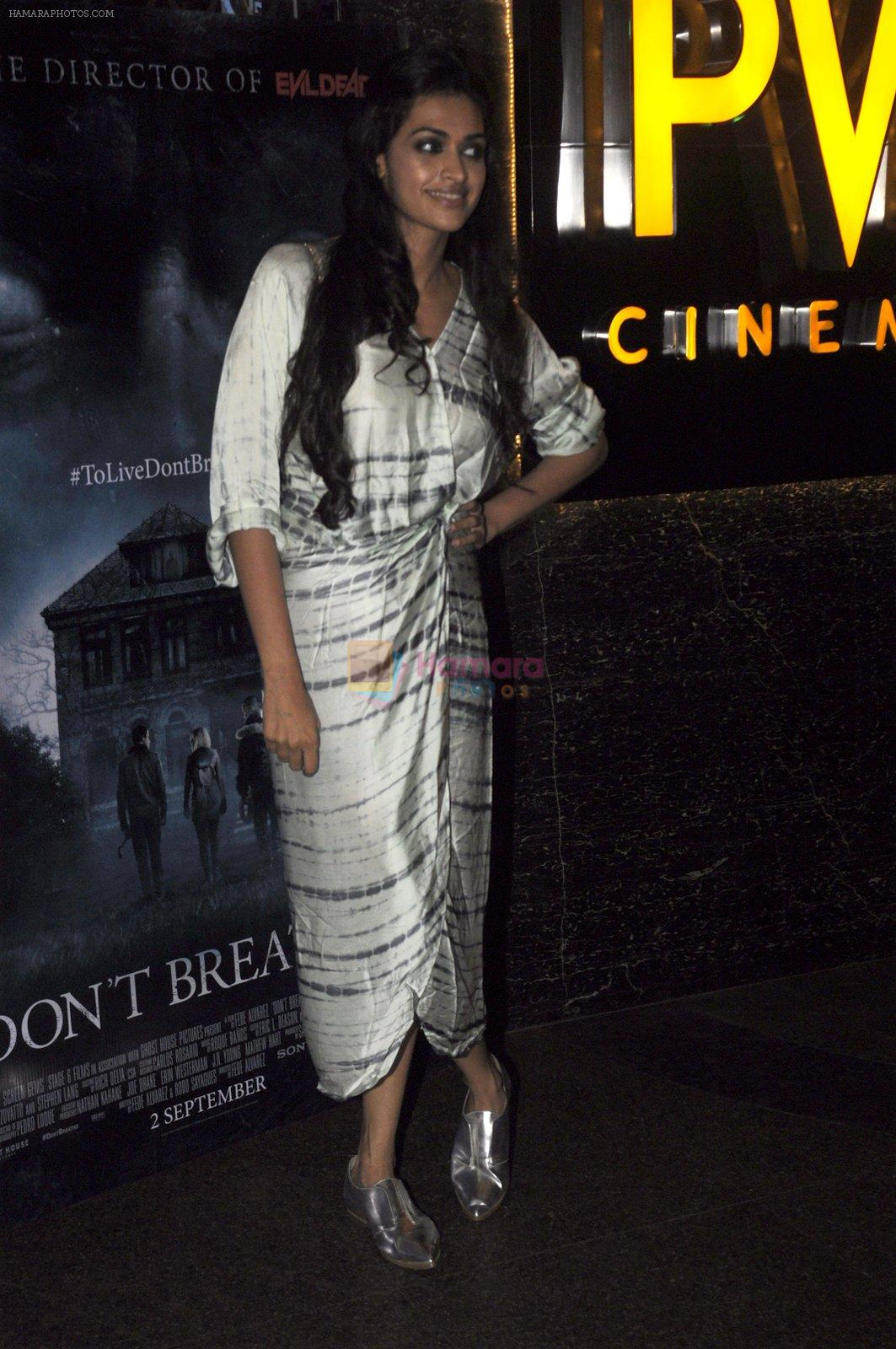 at Don_t Breathe premiere on 30th Aug 2016
