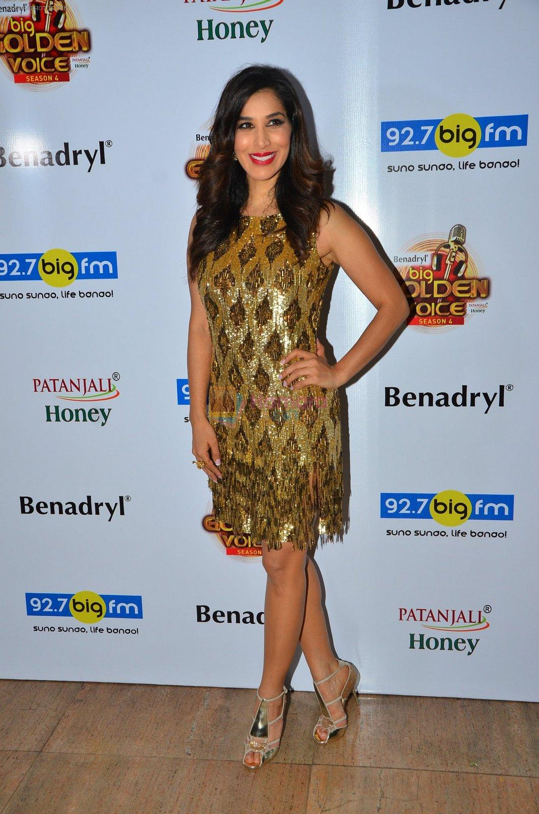 Sophie Choudry at Big FM Golden Voice event on 30th Aug 2016