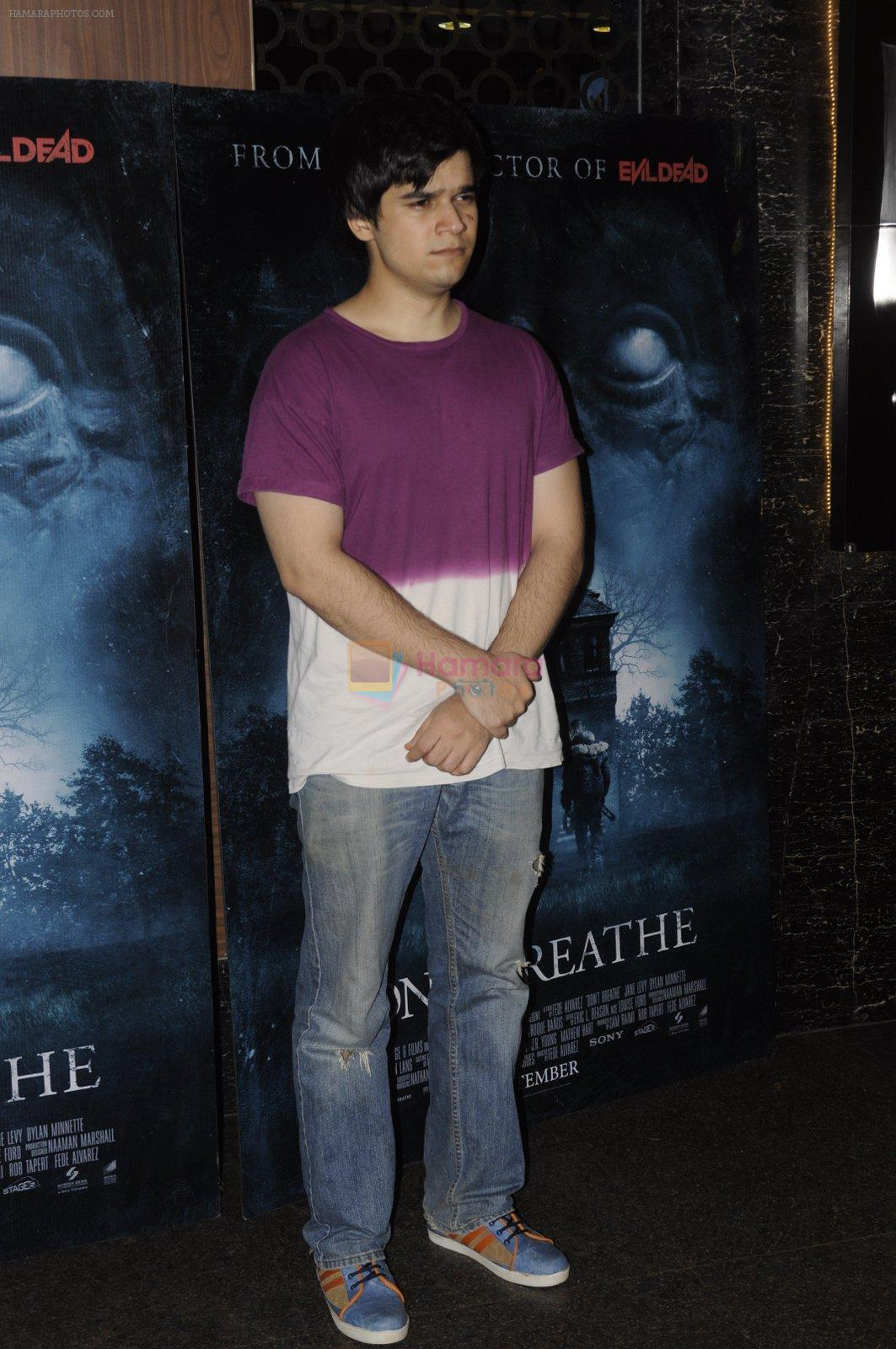 Vivaan Shah at Don_t Breathe premiere on 30th Aug 2016