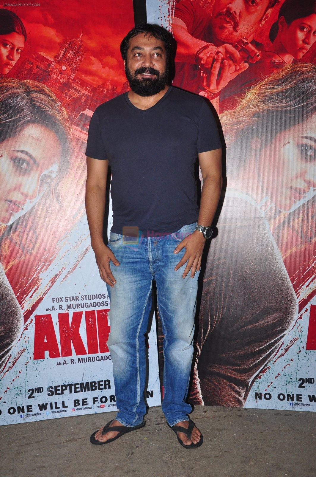 Anurag Kashyap at Akira screening on 31st Aug 2016