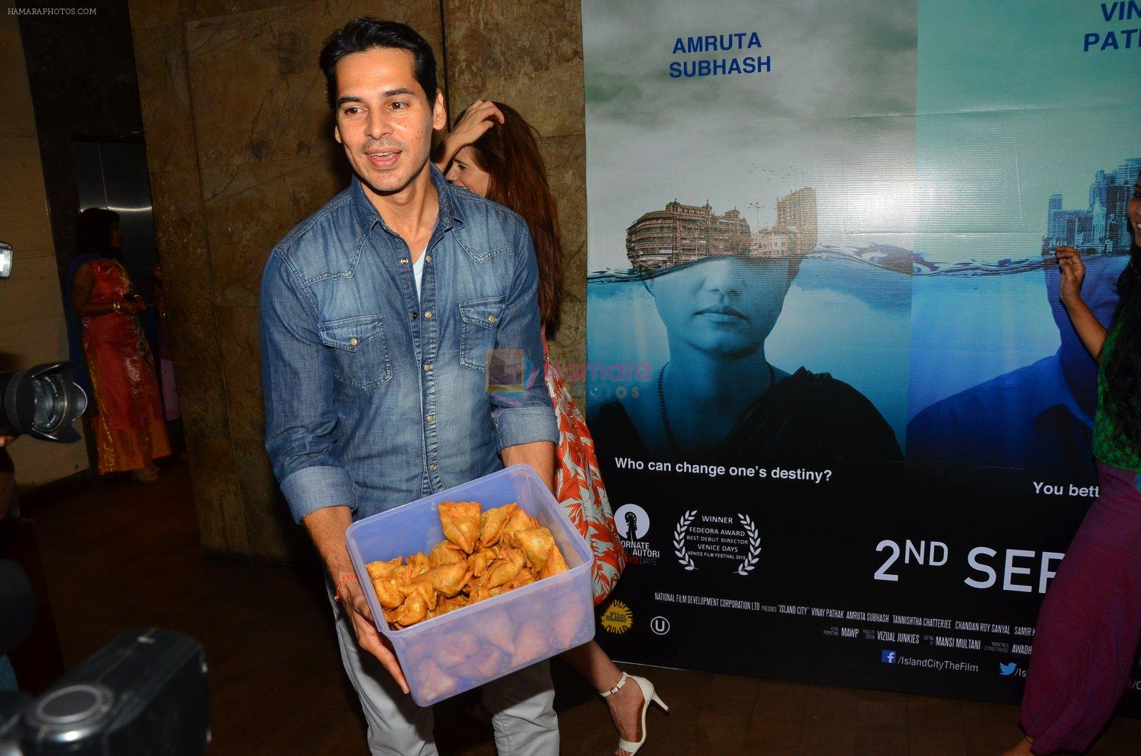 Dino Morea at Island City screening on 31st Aug 2016