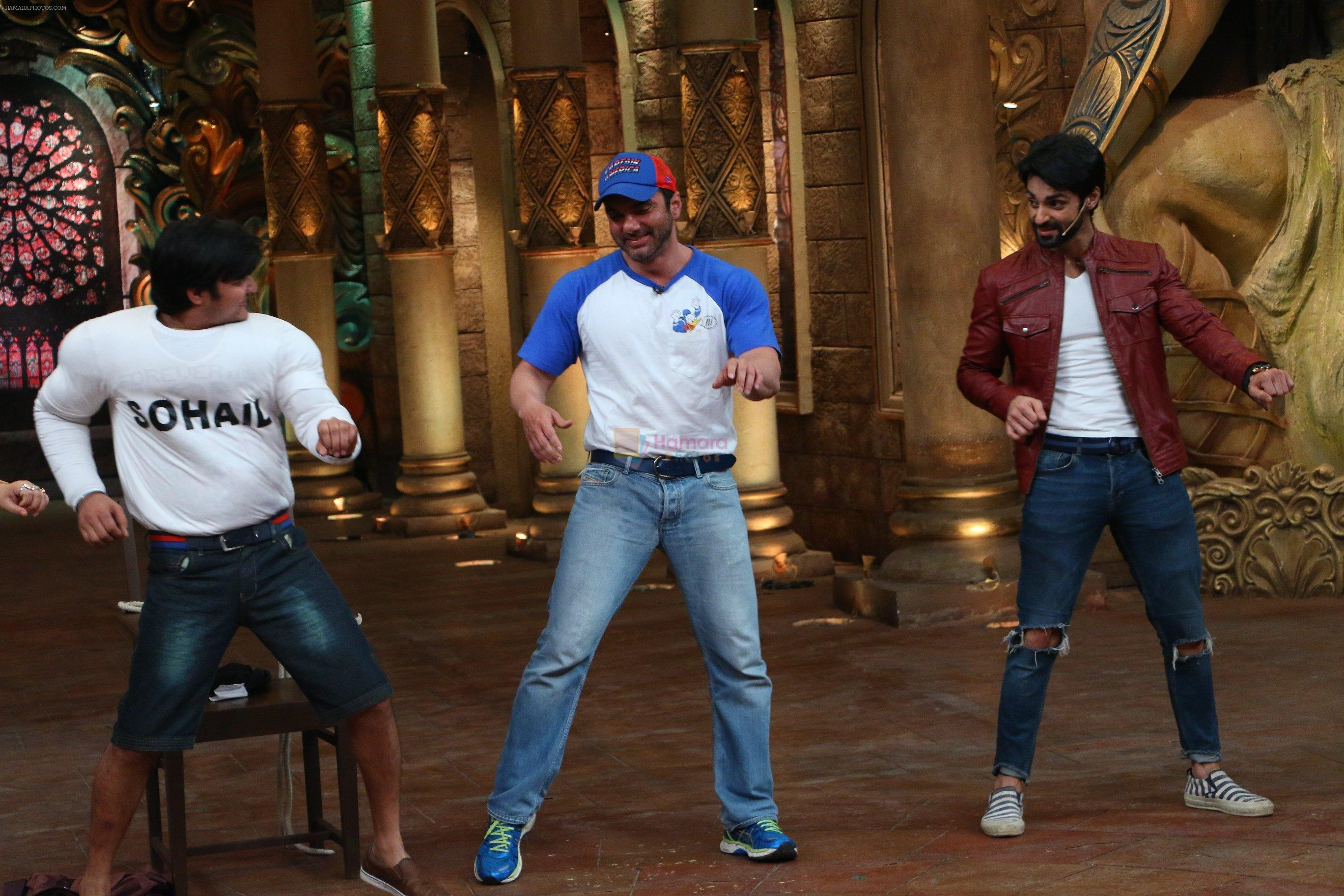 Sohail Khan at Freaky Ali promotion at Comedy Nights Bachao integration on 31st Aug 2016