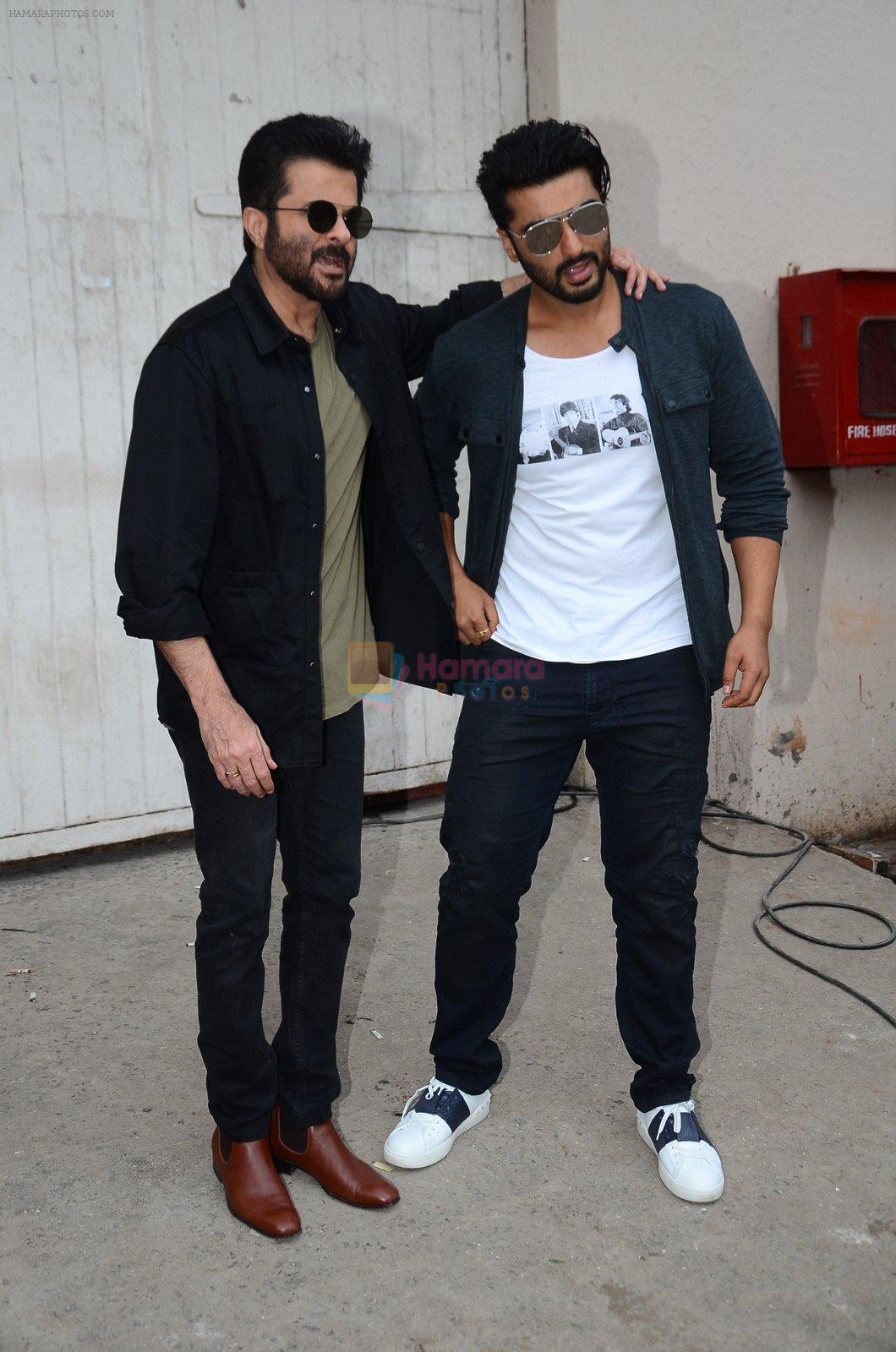 Anil Kapoor, Arjun Kapoor snapped at Mehboob on 31st Aug 2016
