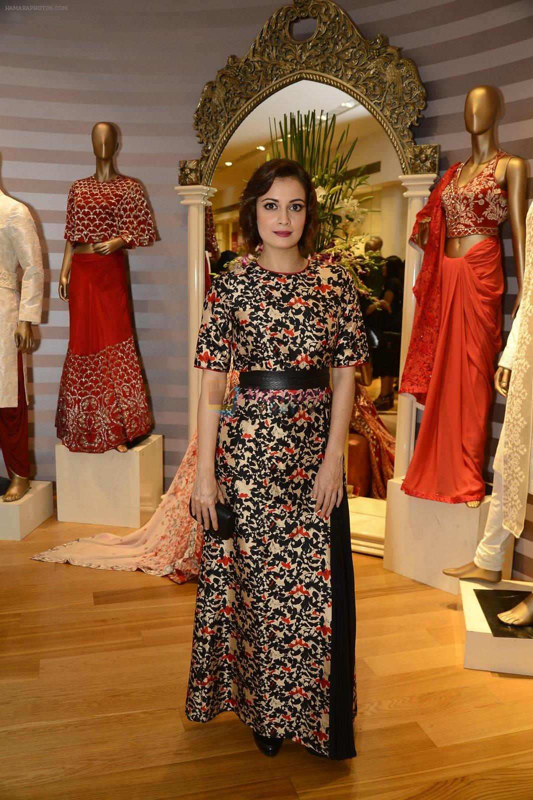 Dia Mirza for Dev r Nil preview at AZA on 31st Aug 2016