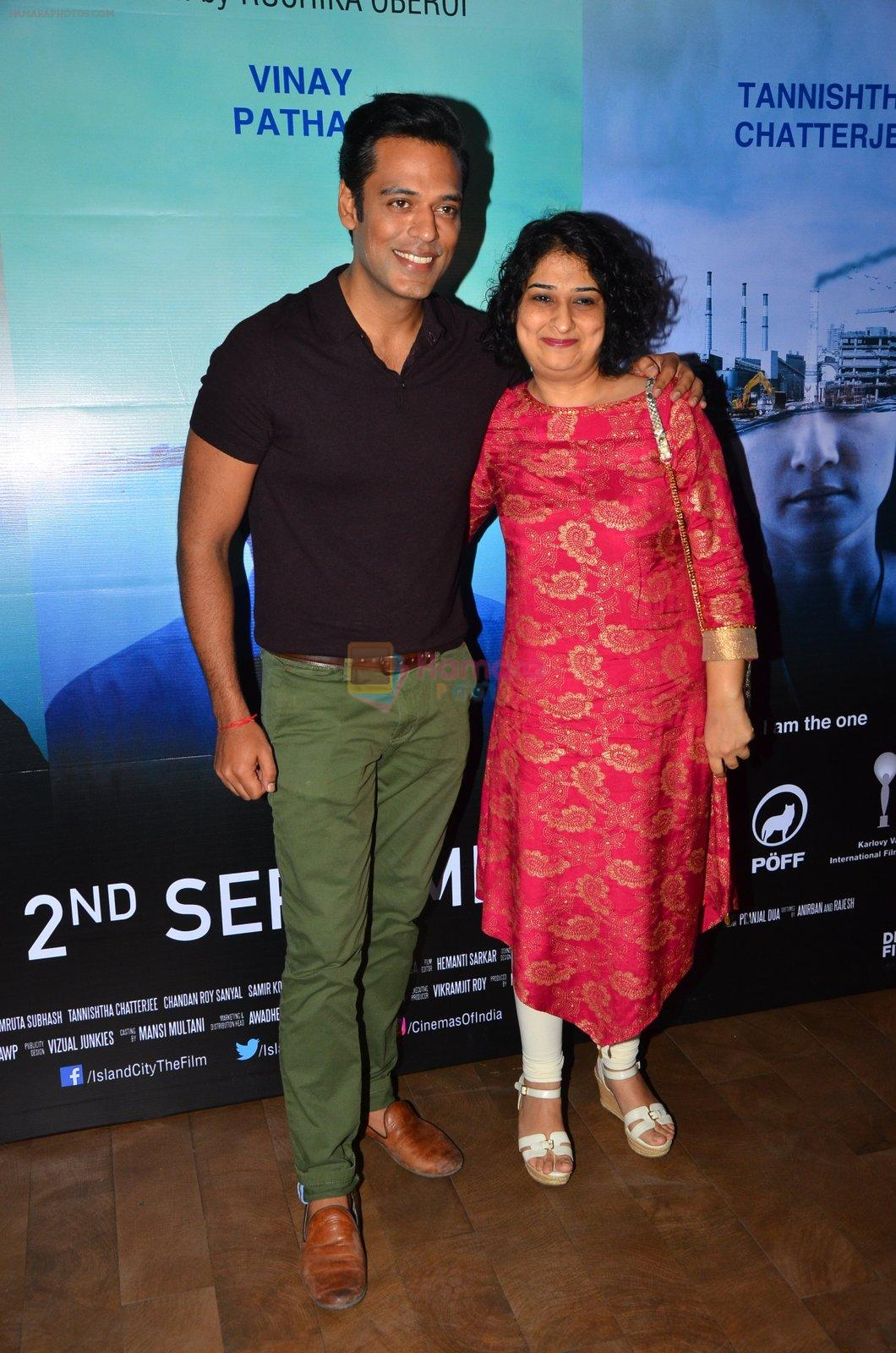 Sammir Kochhar at Island City screening on 31st Aug 2016