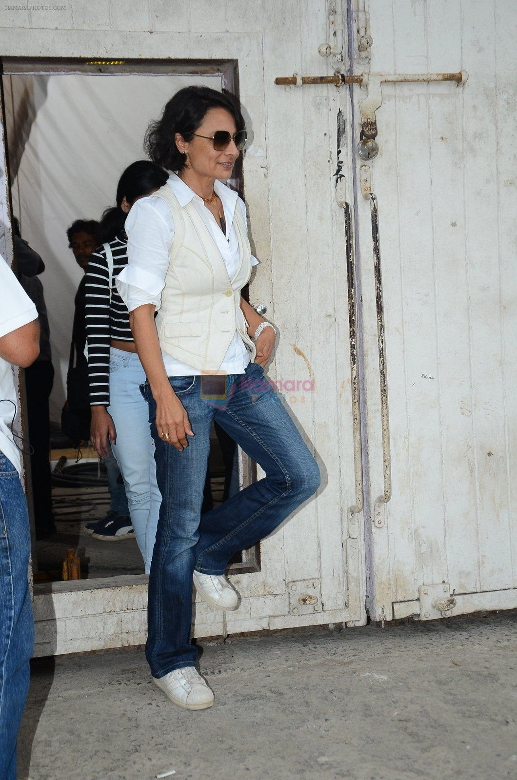 Adhuna Akhtar snapped at Mehboob on 31st Aug 2016