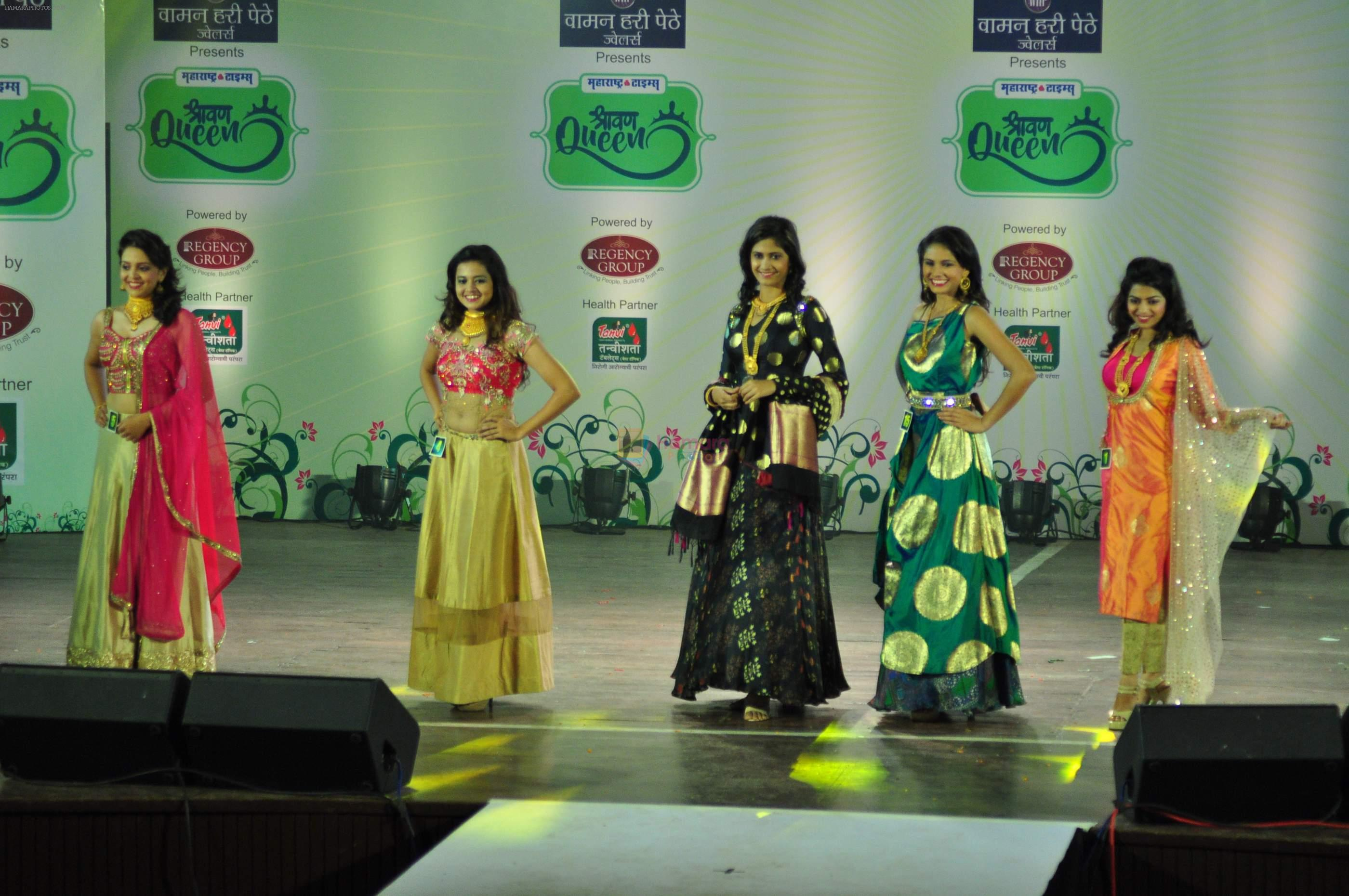 Model at Maharashtra Queen Auditions on 30th Aug 2016