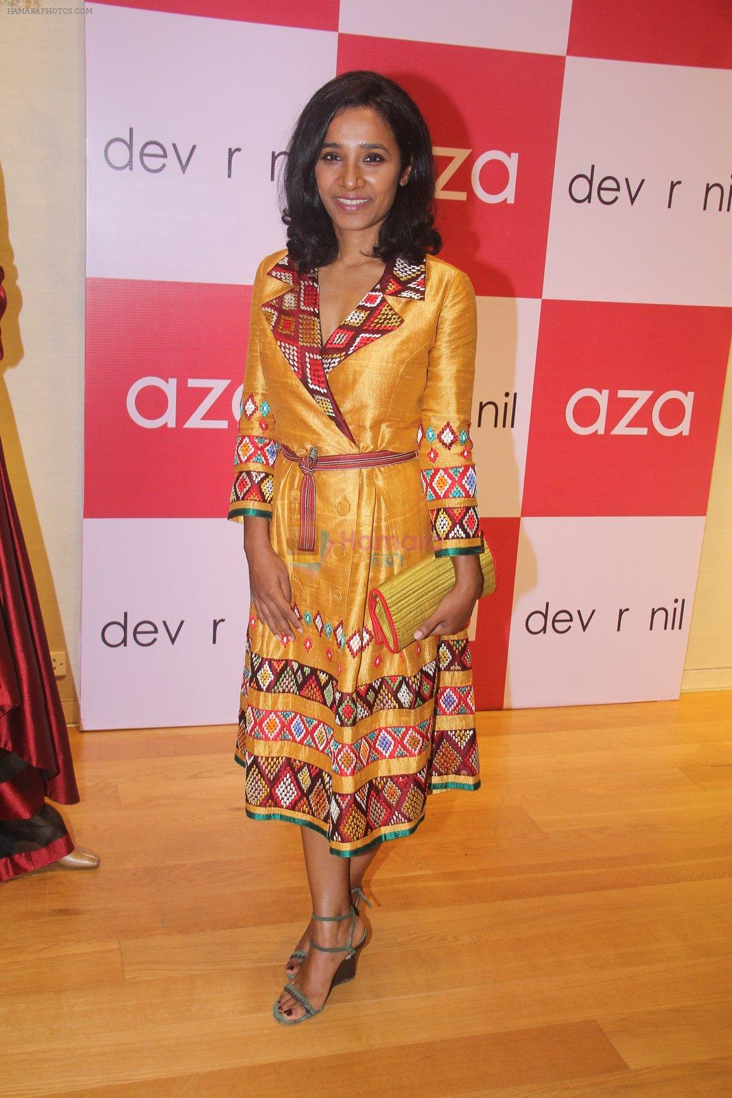 Tannishtha Chatterjee for Dev r Nil preview at AZA on 31st Aug 2016