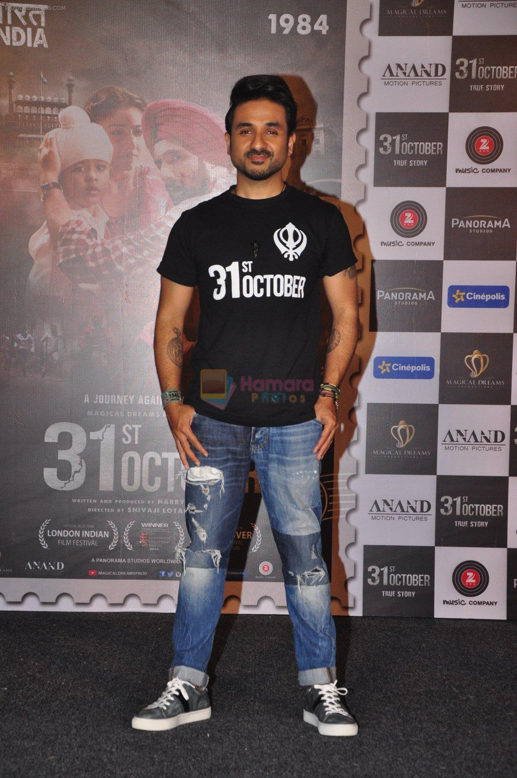 Vir Das at 31st october trailer launch in Mumbai on 31st Aug 2016
