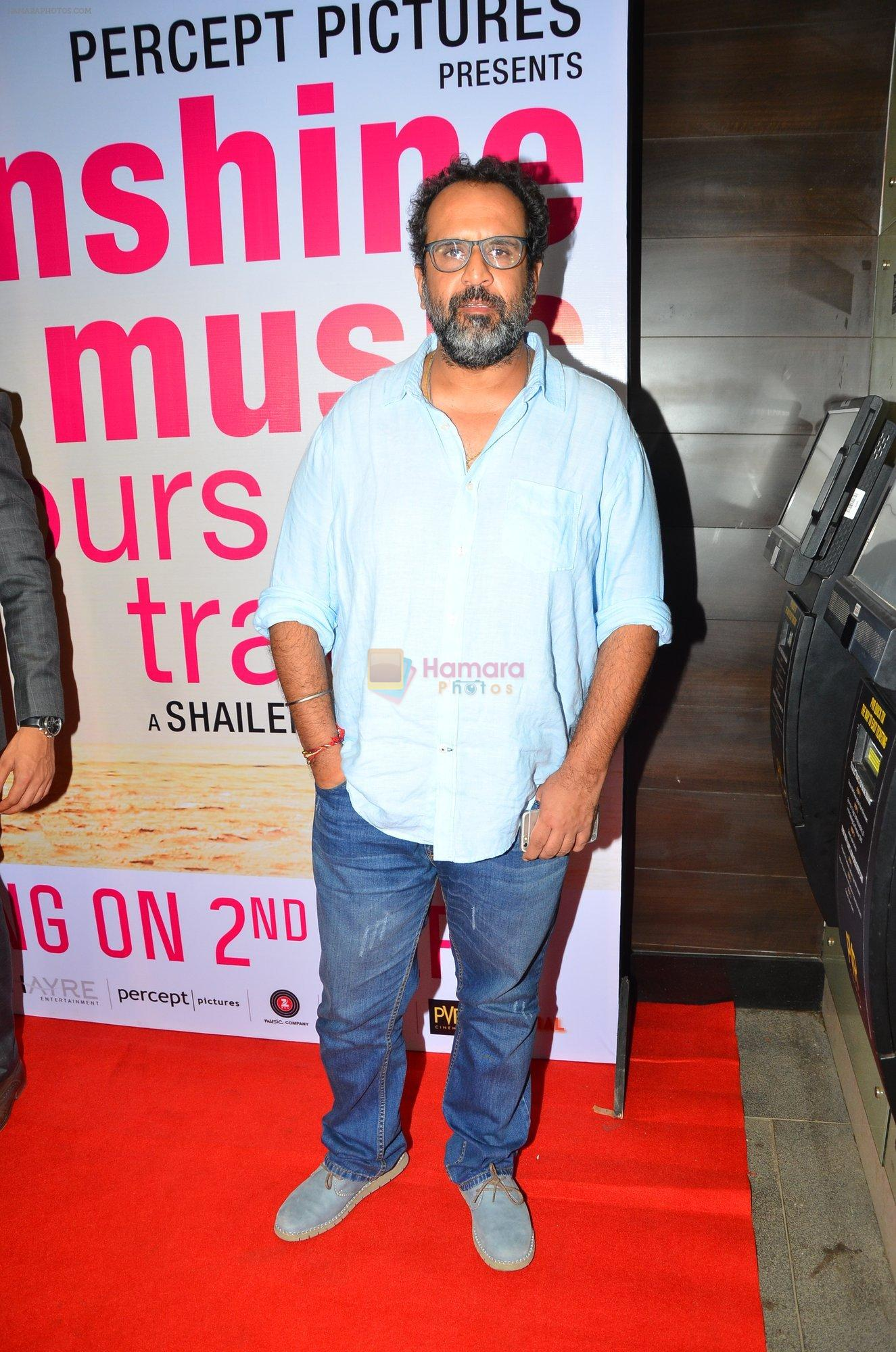 Anand L Rai at Sunshine Premiere on 1st Sept 2016