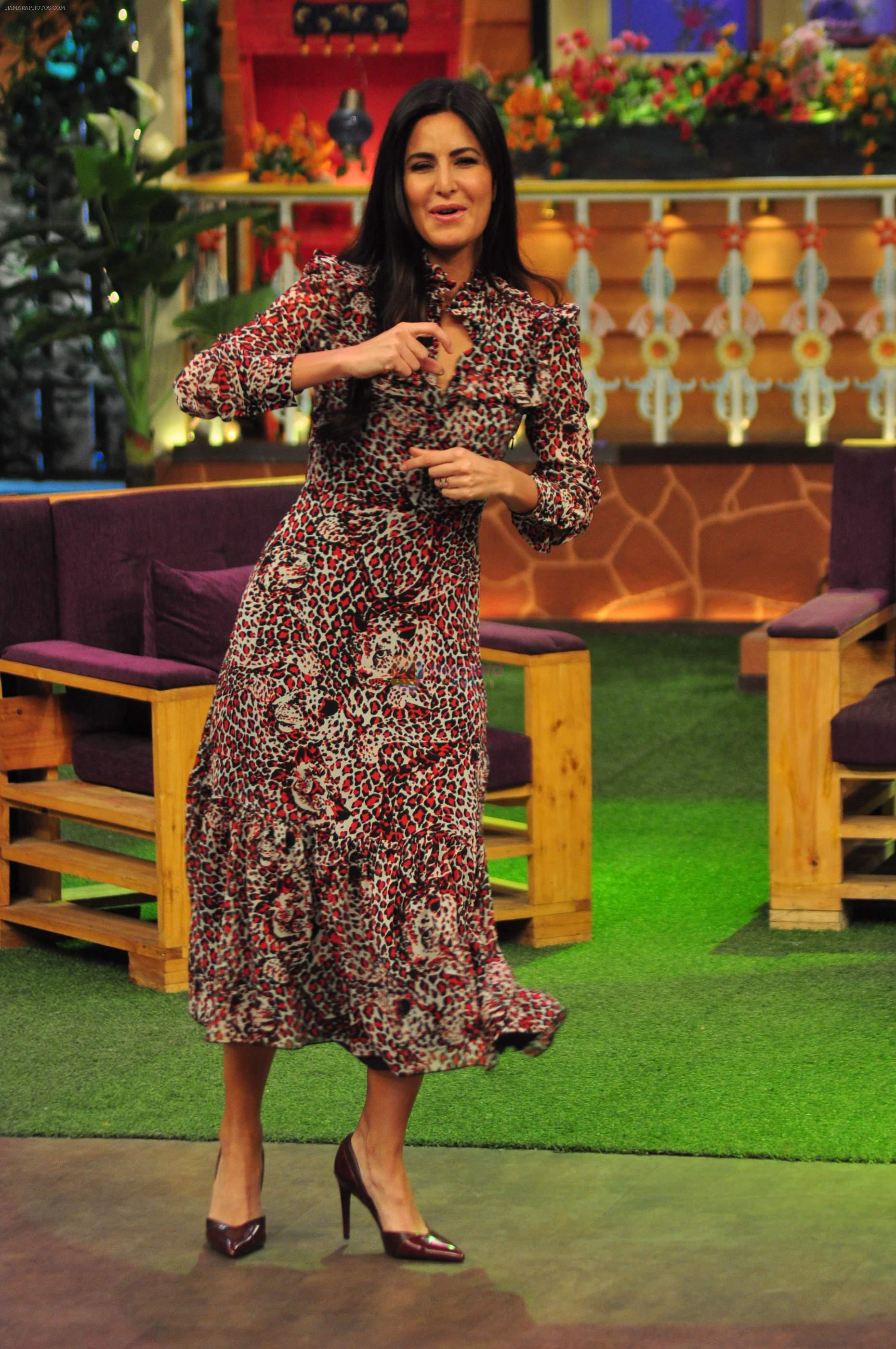 Katrina Kaif on the sets of The Kapil Sharma Show on 1st Sept 2016