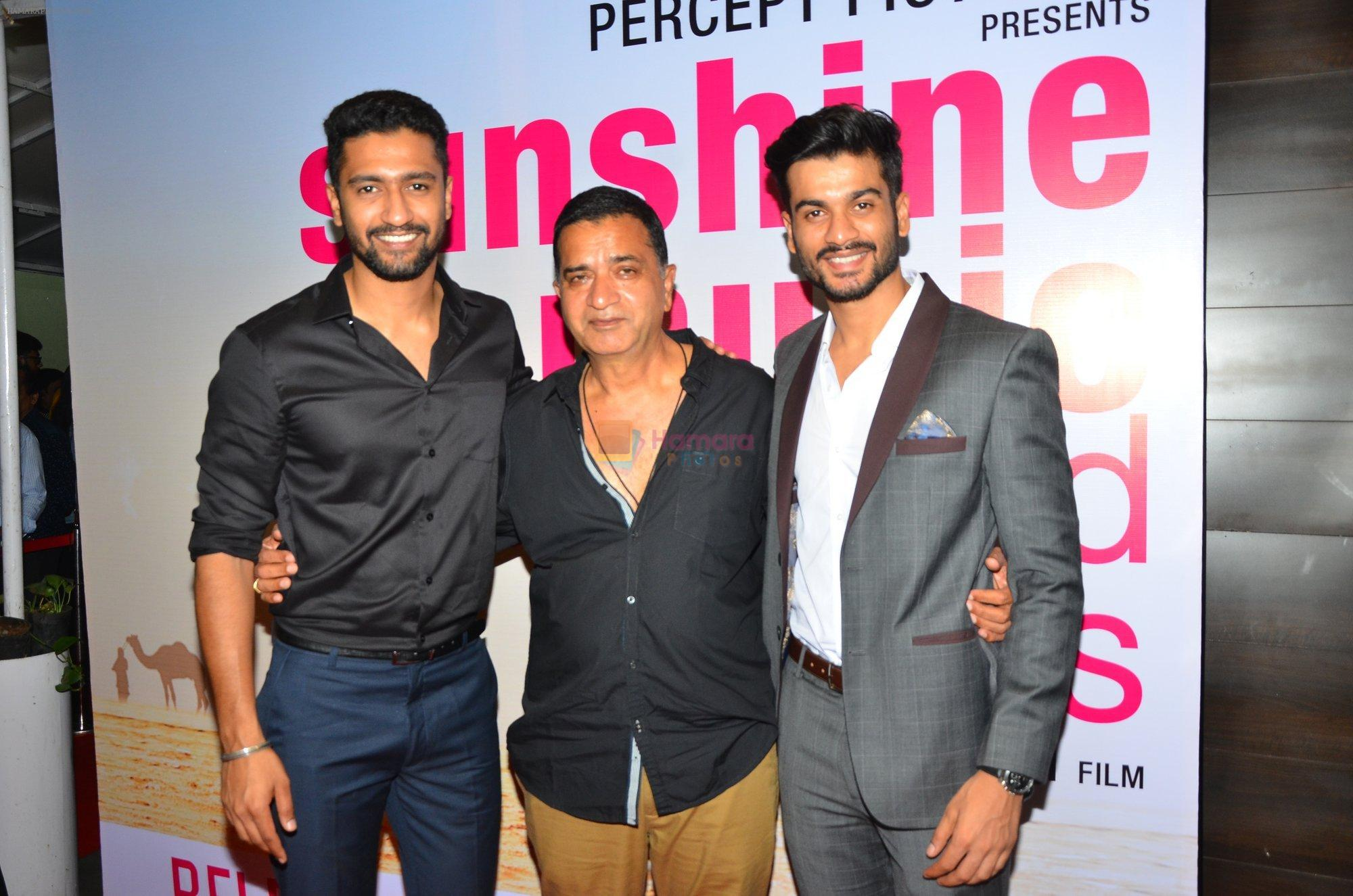 Vicky Kaushal at Sunshine Premiere on 1st Sept 2016