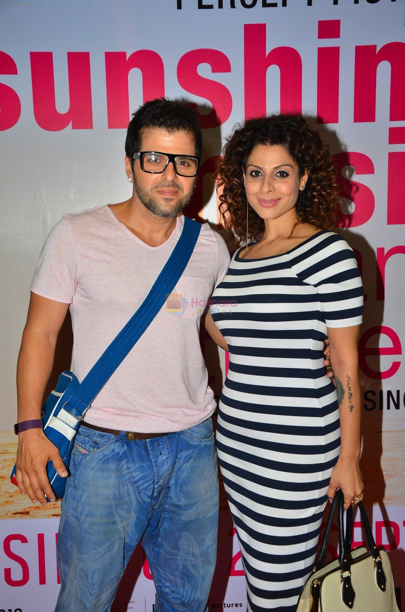 Tanaaz Irani, Bhaktiyar at Sunshine Premiere on 1st Sept 2016