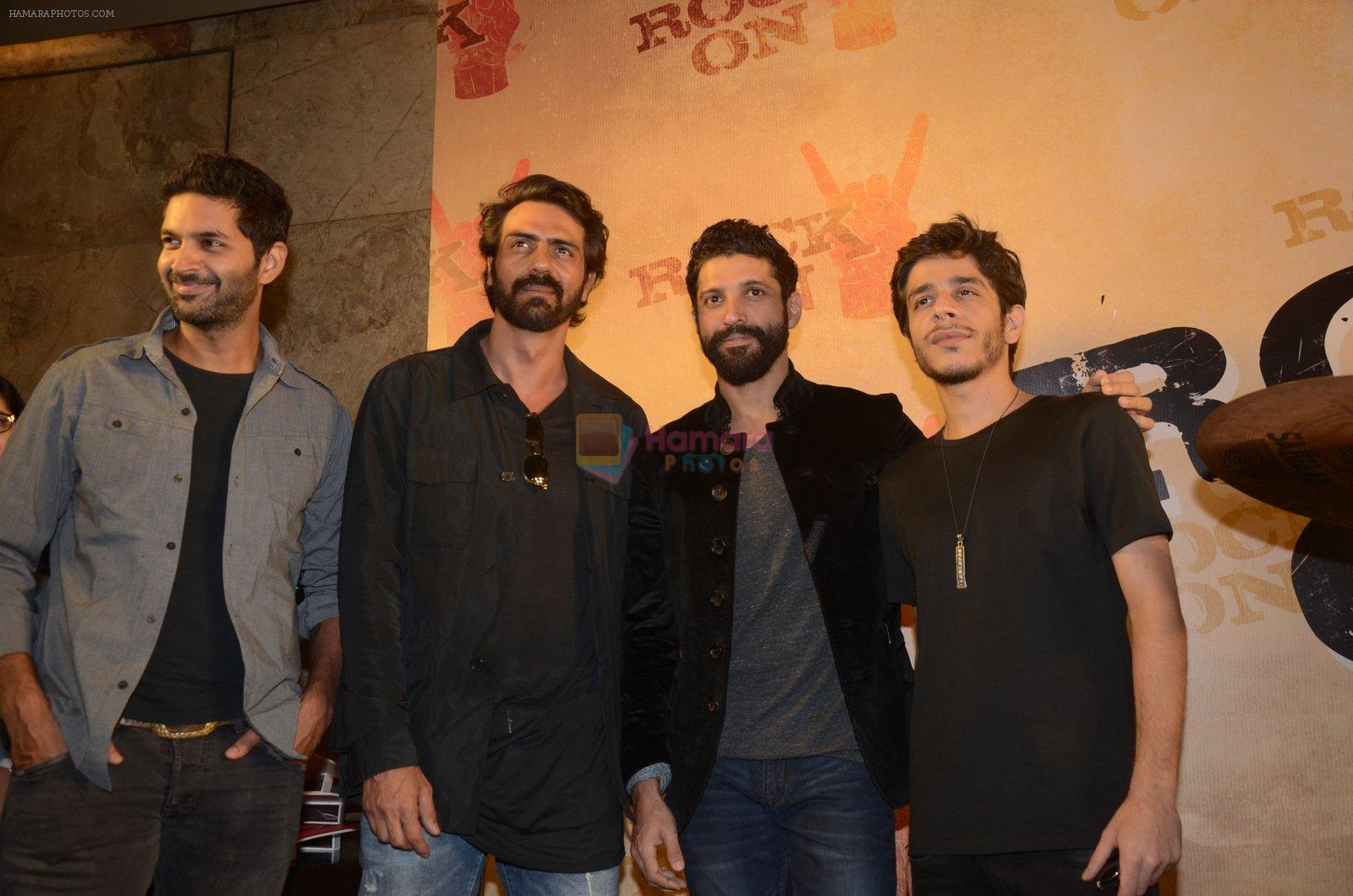 Arjun Rampal at Rock On 2 trailer launch on 2nd Sept 2016