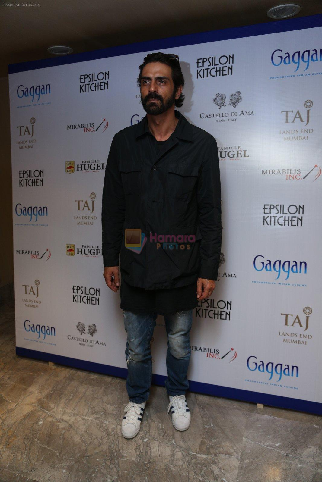 Arjun Rampal at Chef Gaggan's foodie event on 2nd Sept 2016