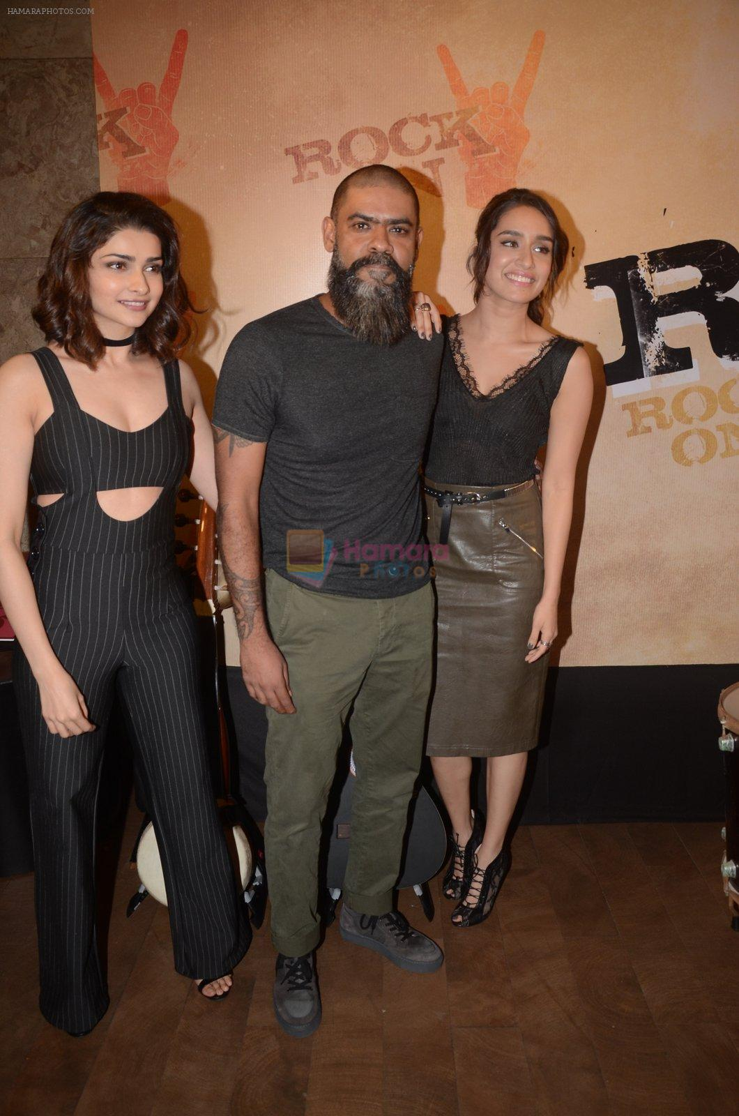 Prachi Desai, Shraddha Kapoor at Rock On 2 trailer launch on 2nd Sept 2016